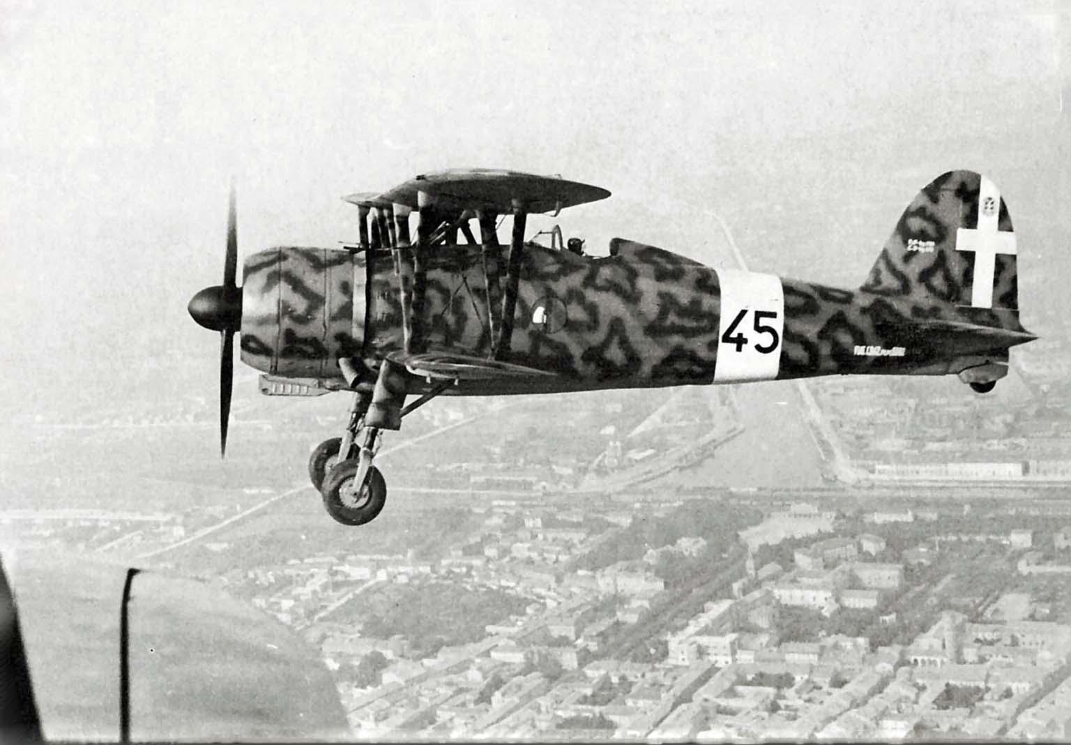 Fiat CR.42 A.S. Falco