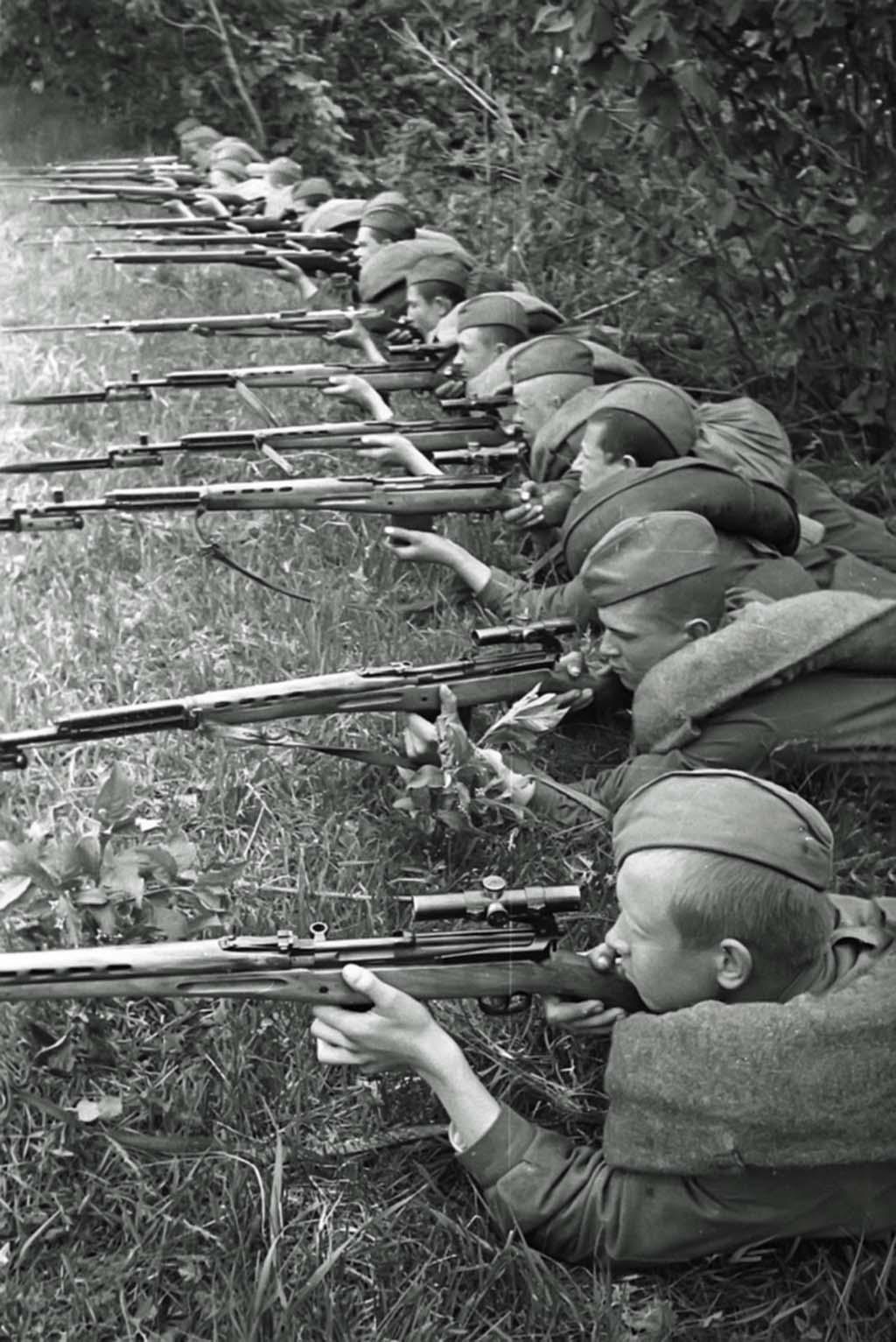 Soviet snipers