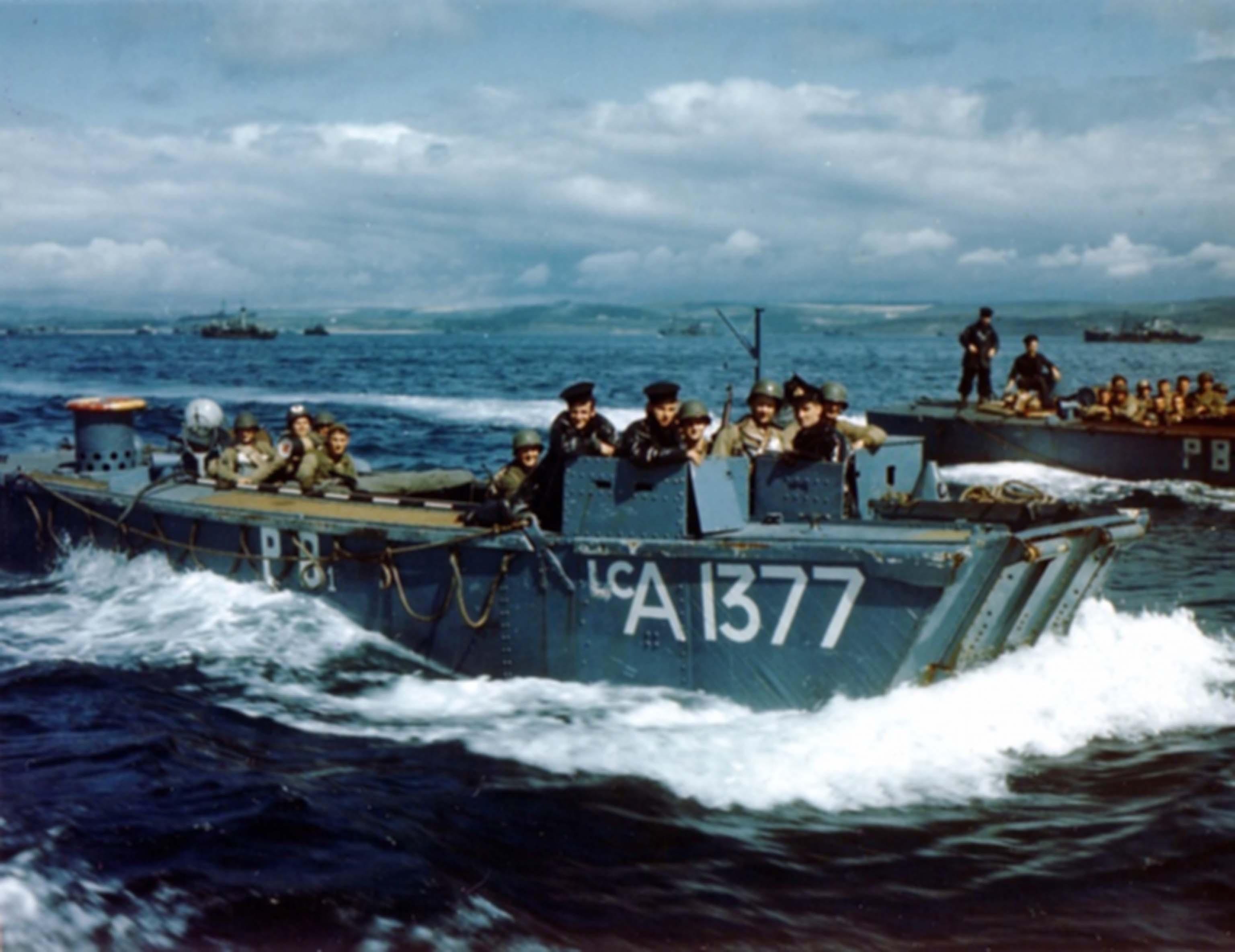 LCA-boat