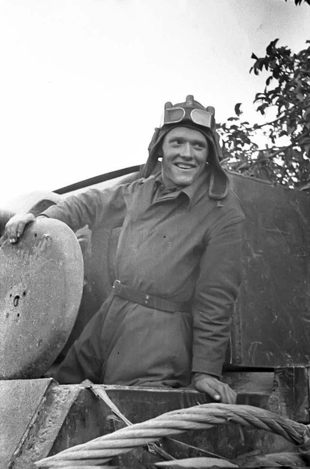 Soviet tankman