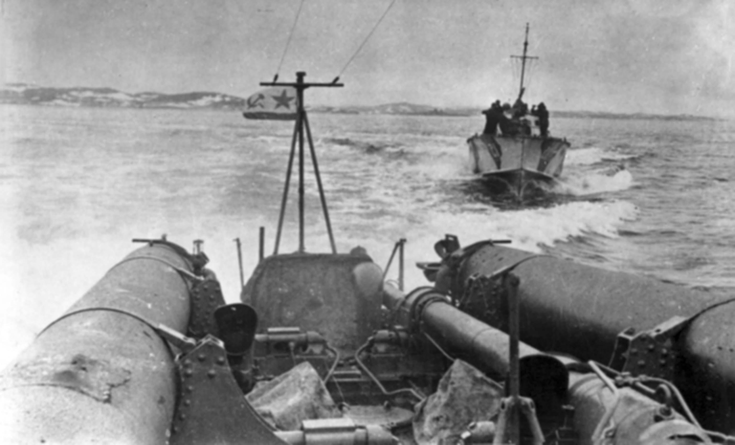 torpedo boats