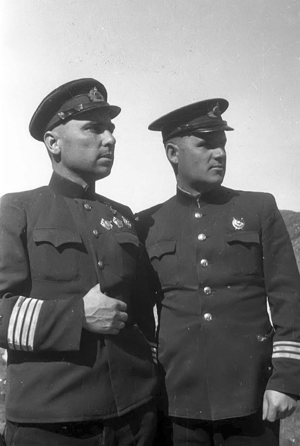 Nikolai Lunin, Sergei Lysov
