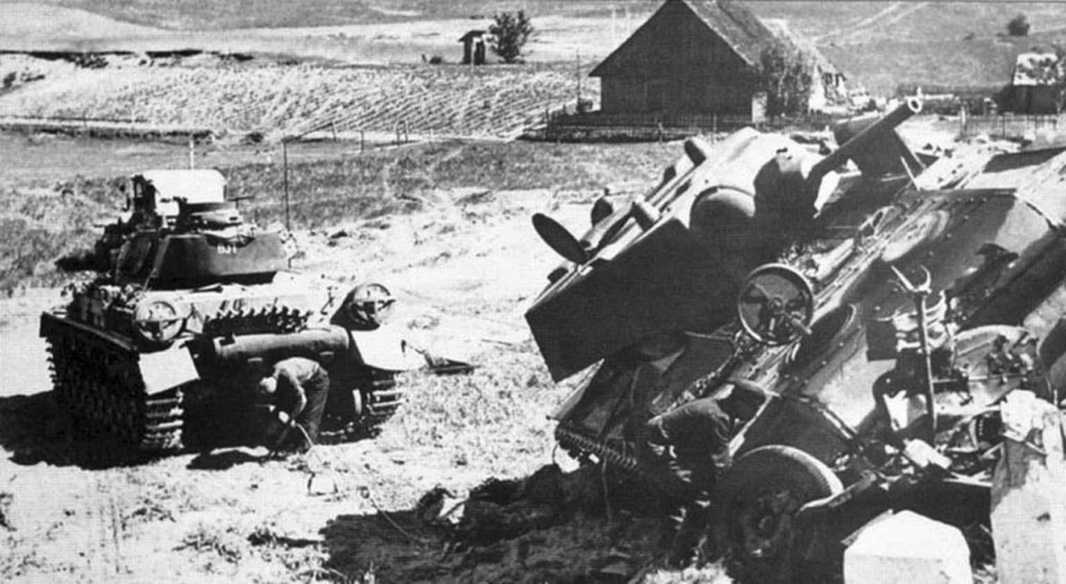 German tankmen