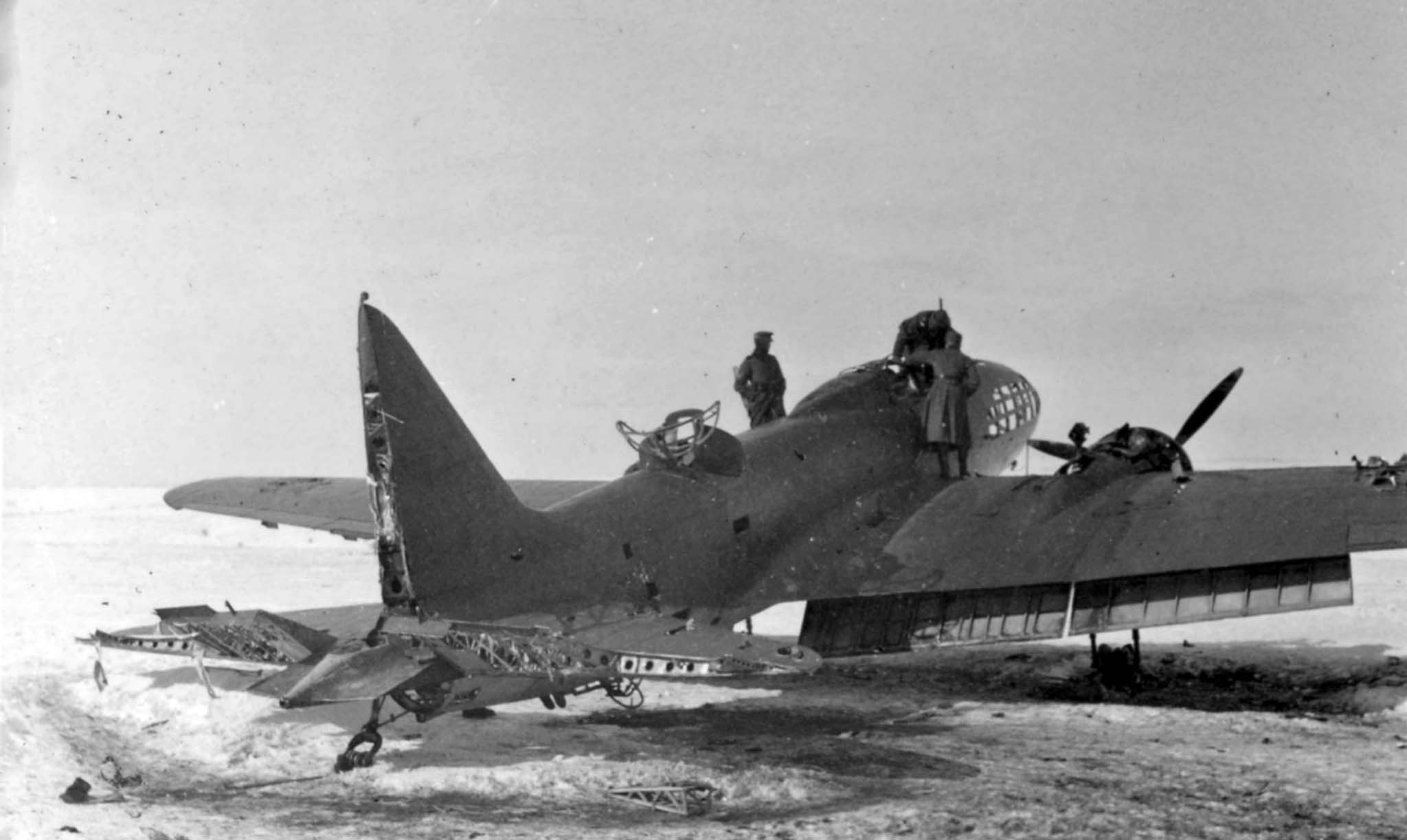 bomber DB-3F