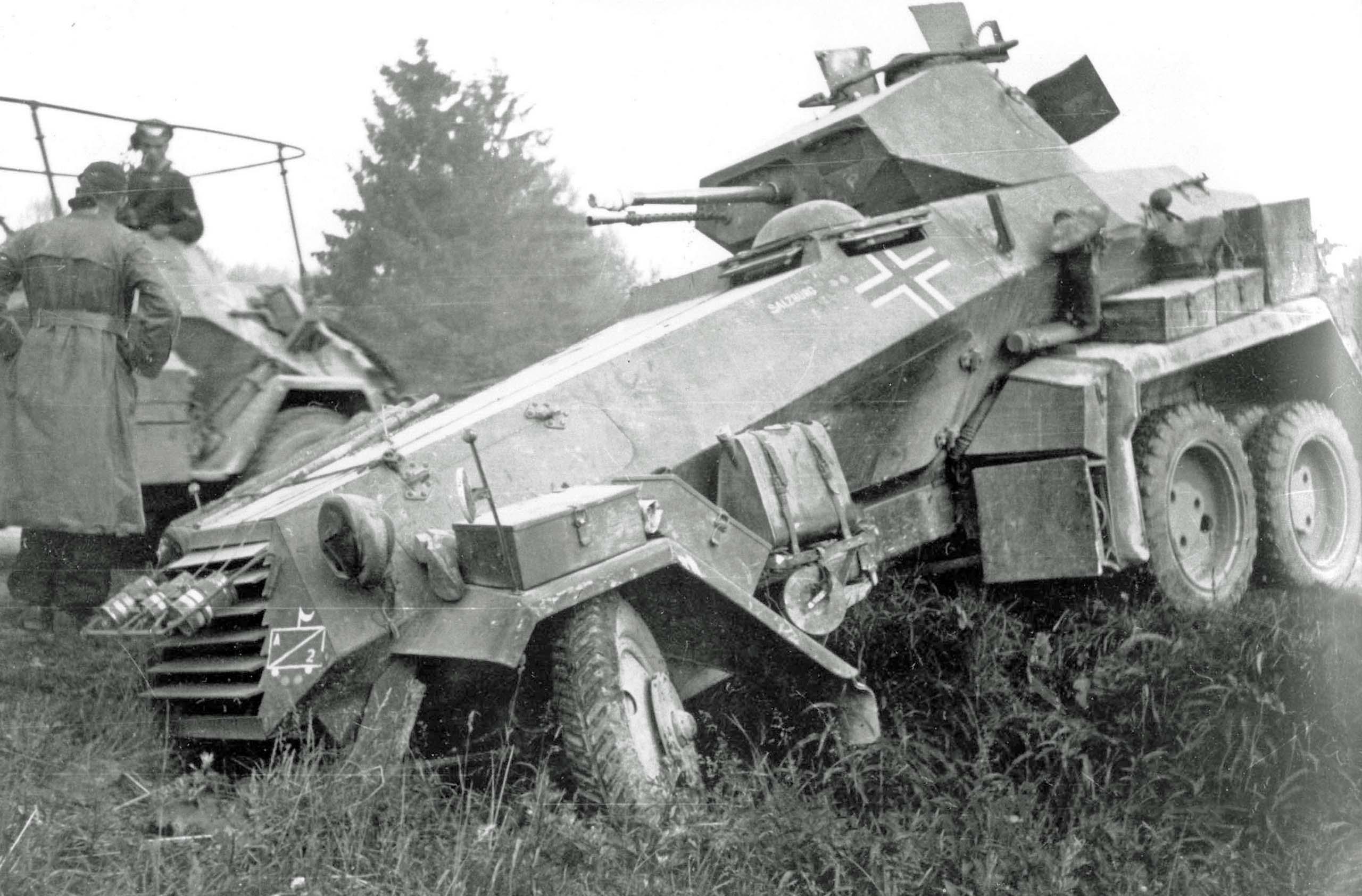 German heavy armored car Sd Kfz 231 | World War 2 High