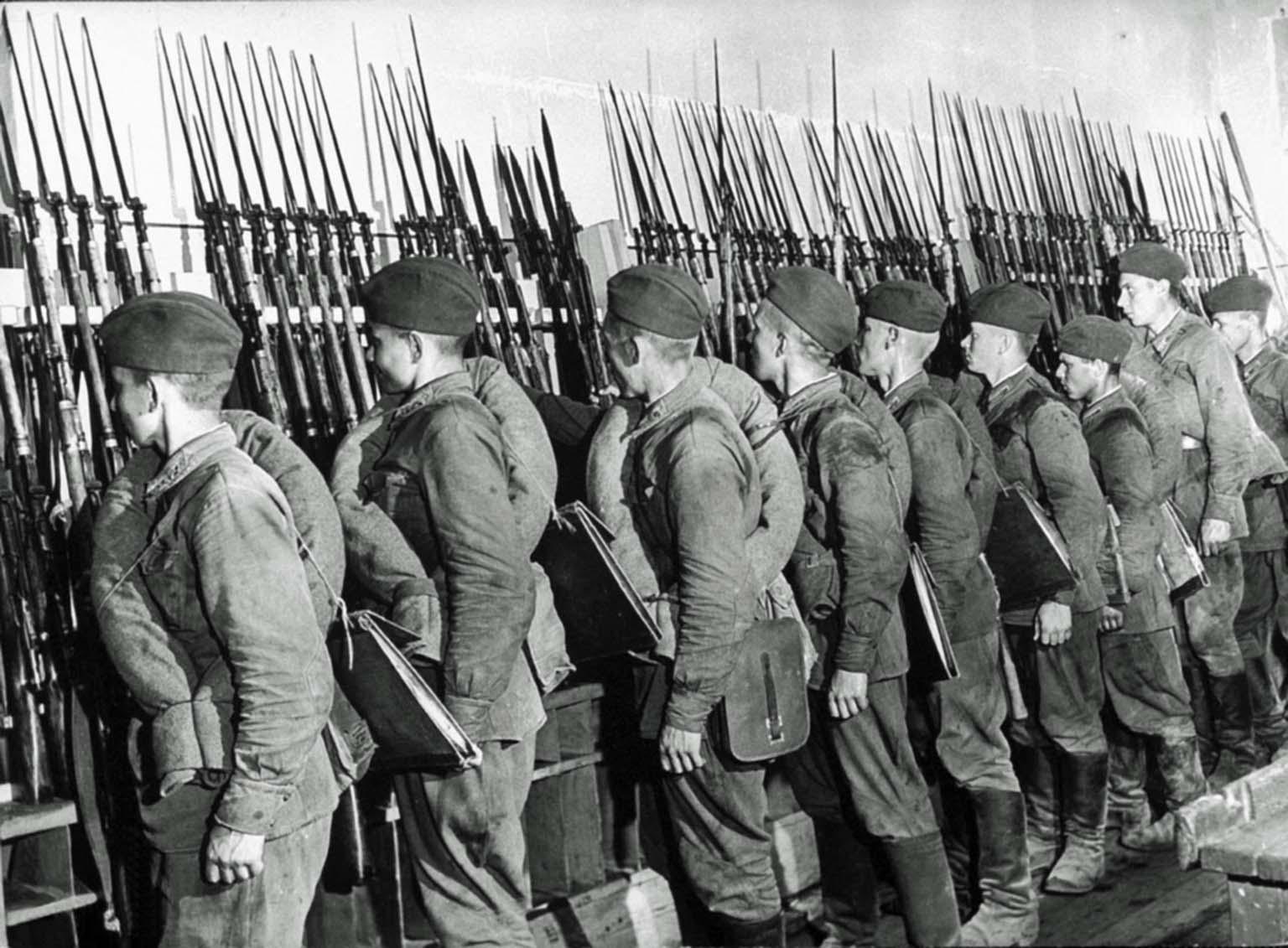 Soviet cadets