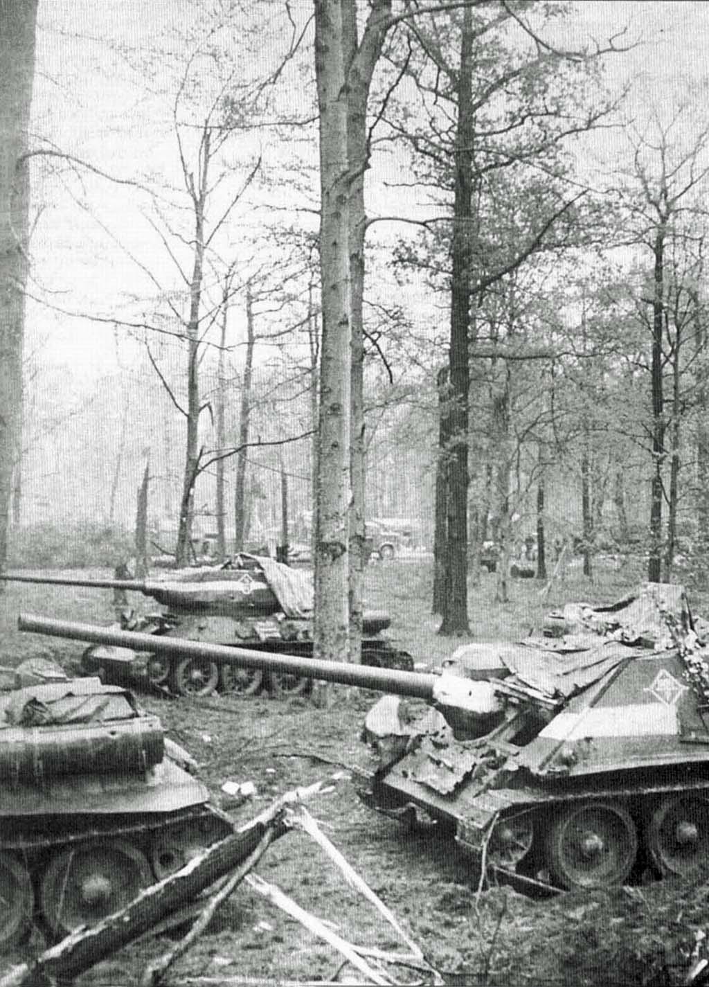 SU-100, T-34-85