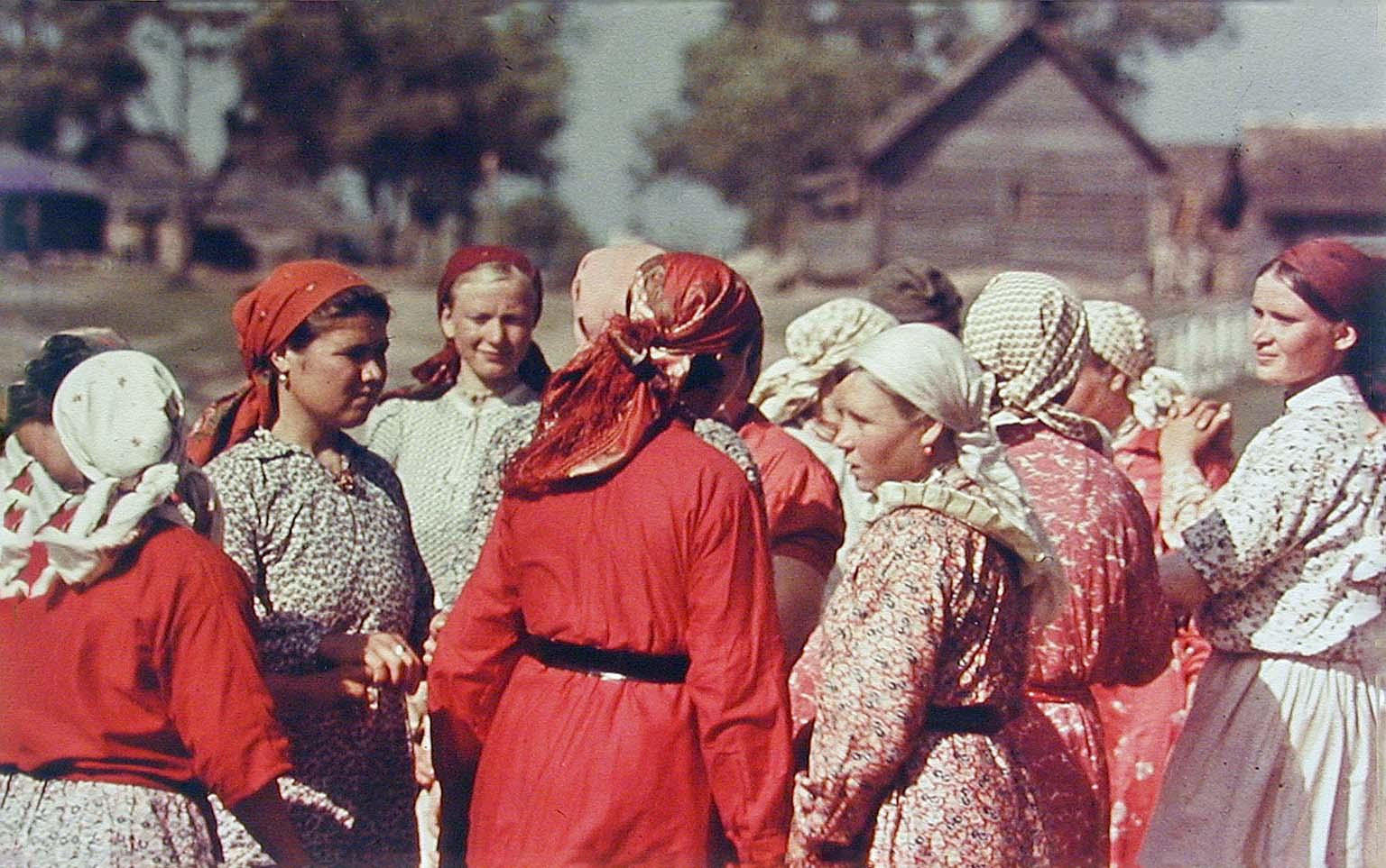 Soviet peasant