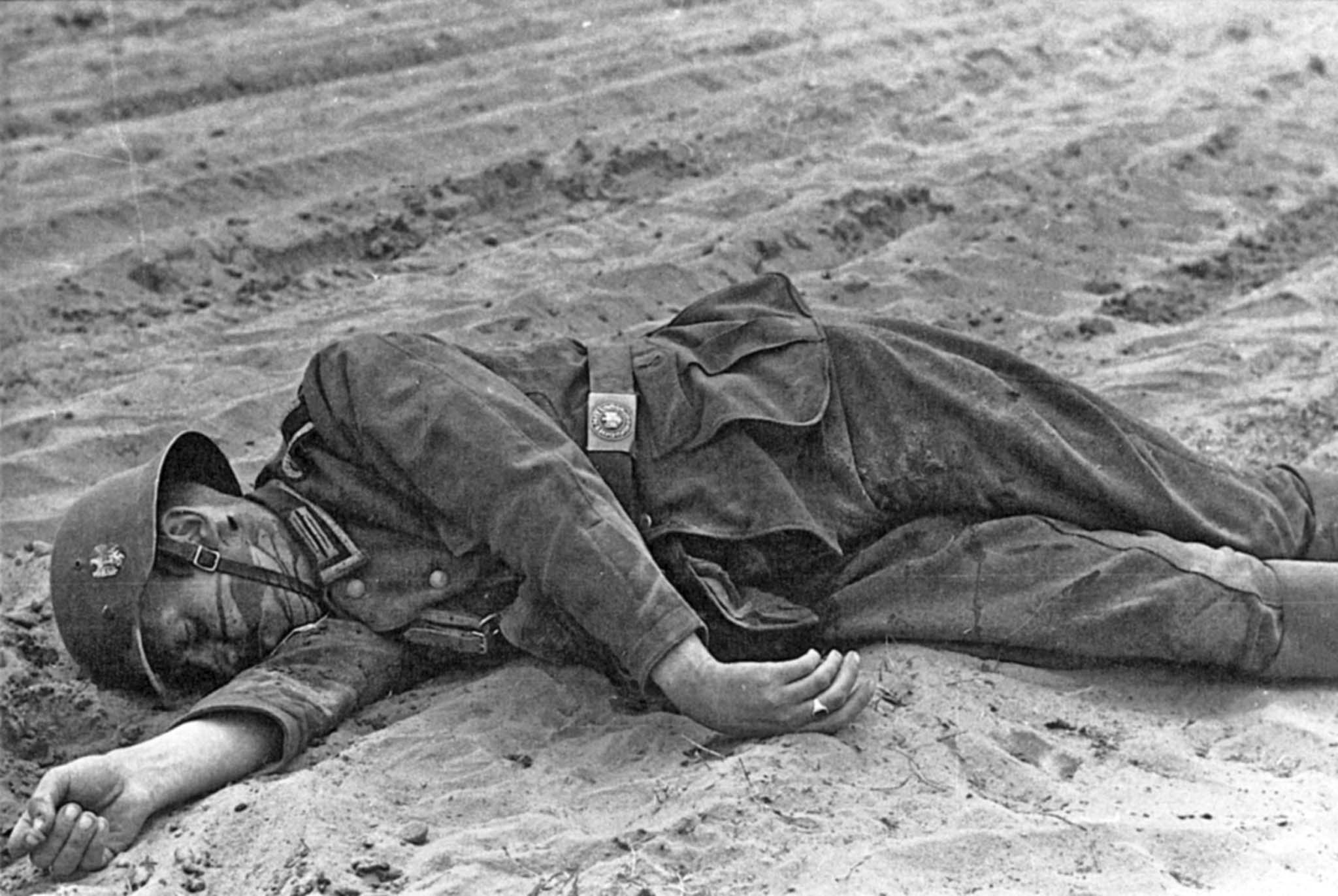 Dead man from the Wehrmacht