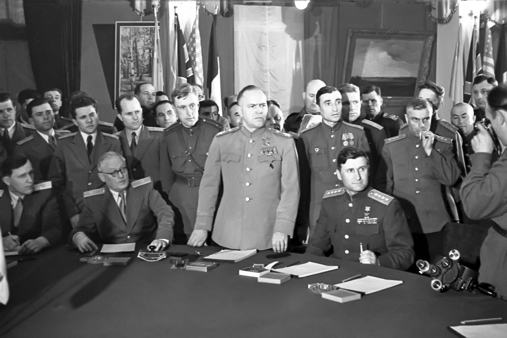 Soviet delegation