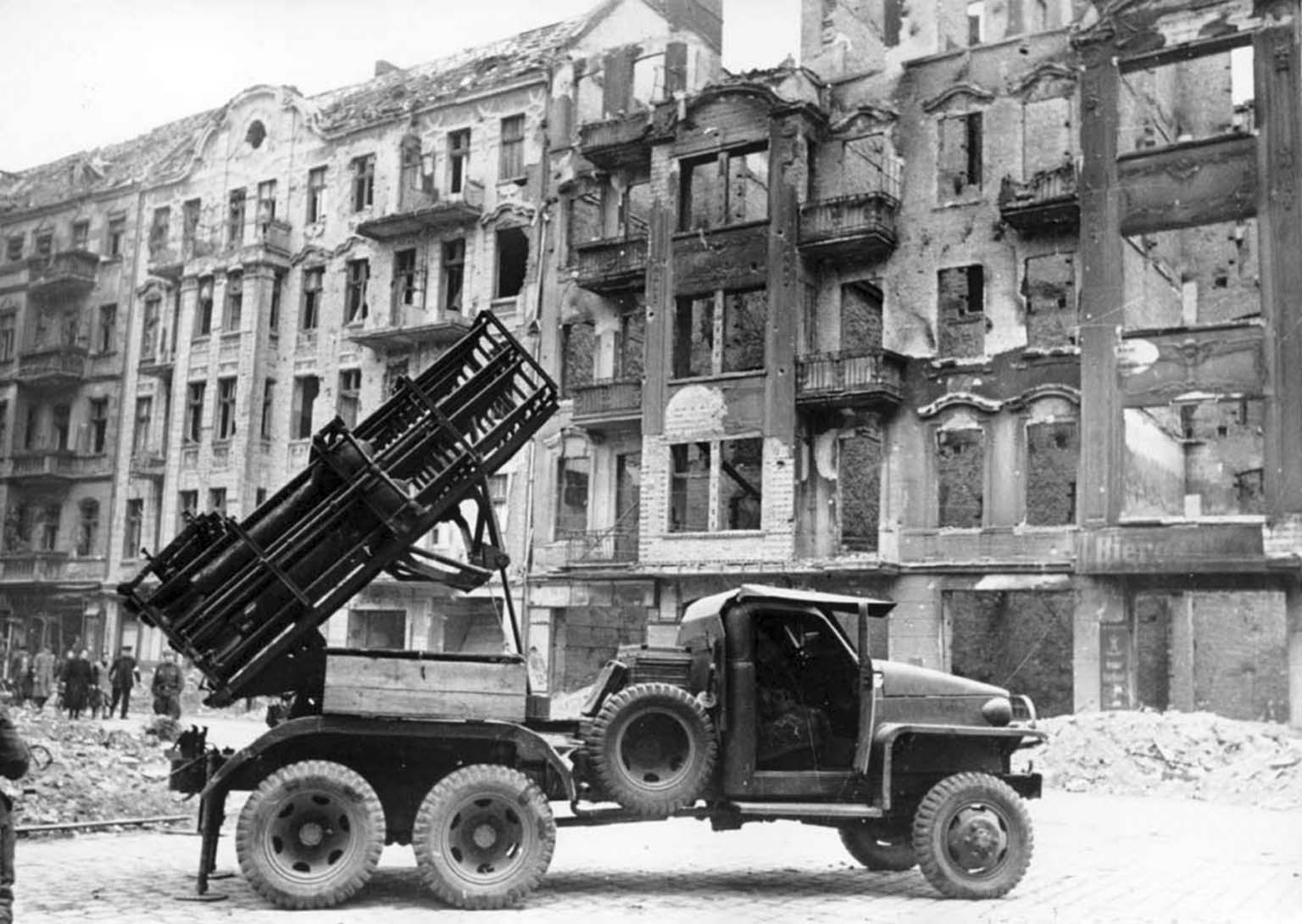 BM-31-12 Multiple rocket launcher