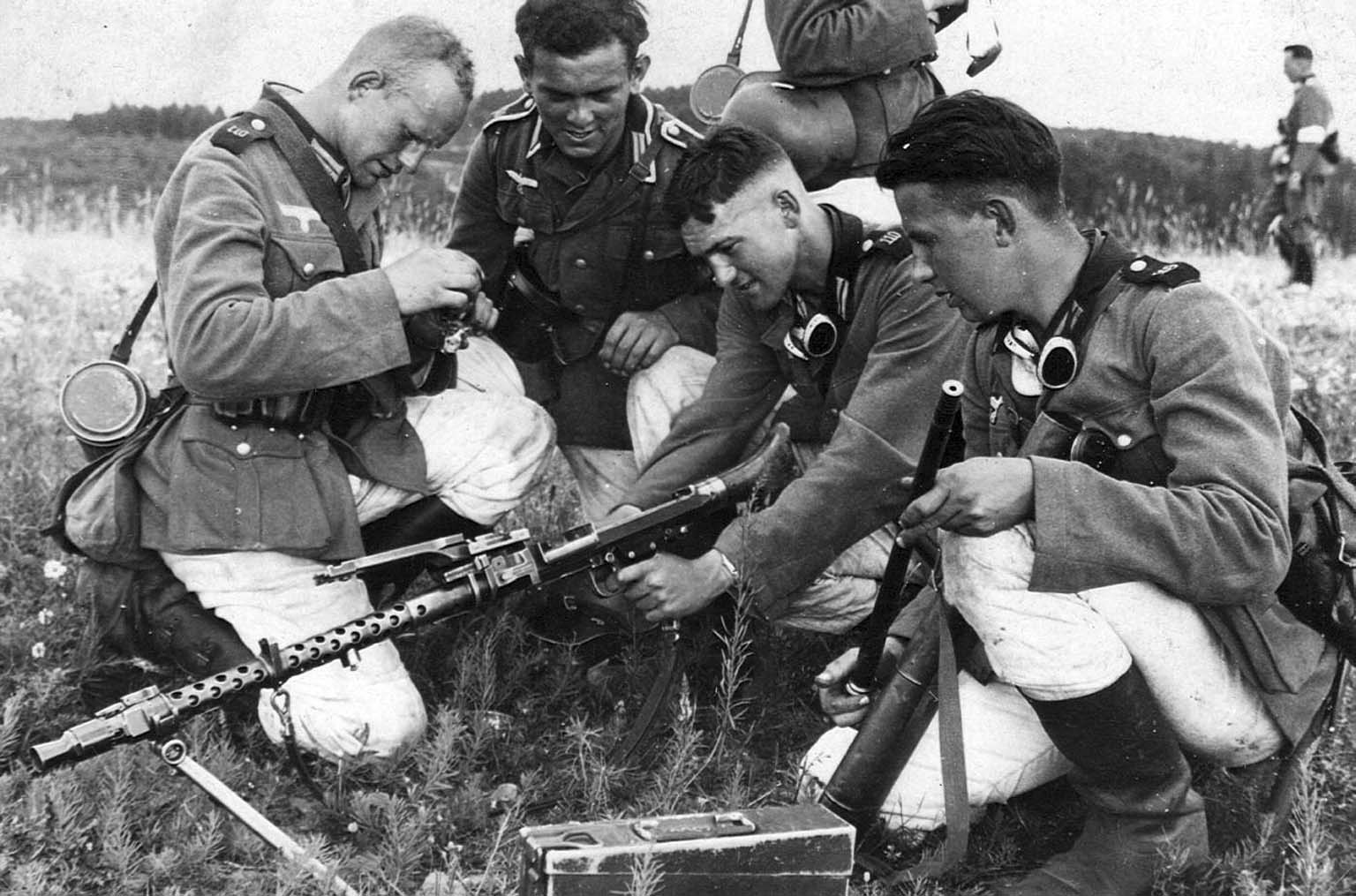 MG.34 machine gun