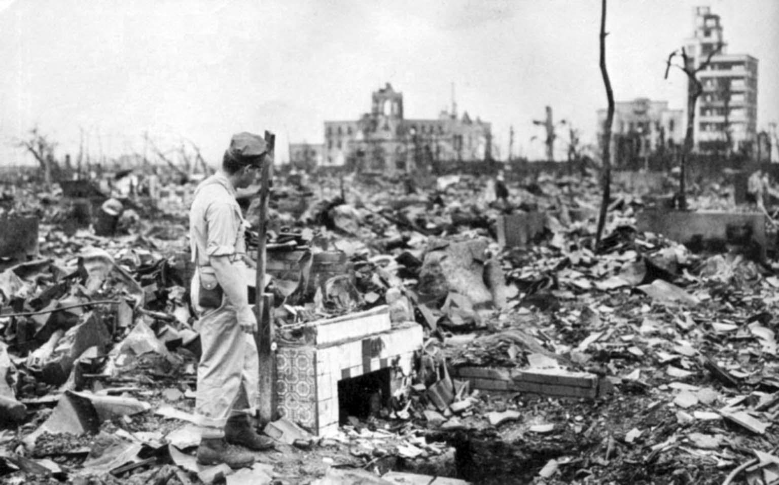 American atomic bombing