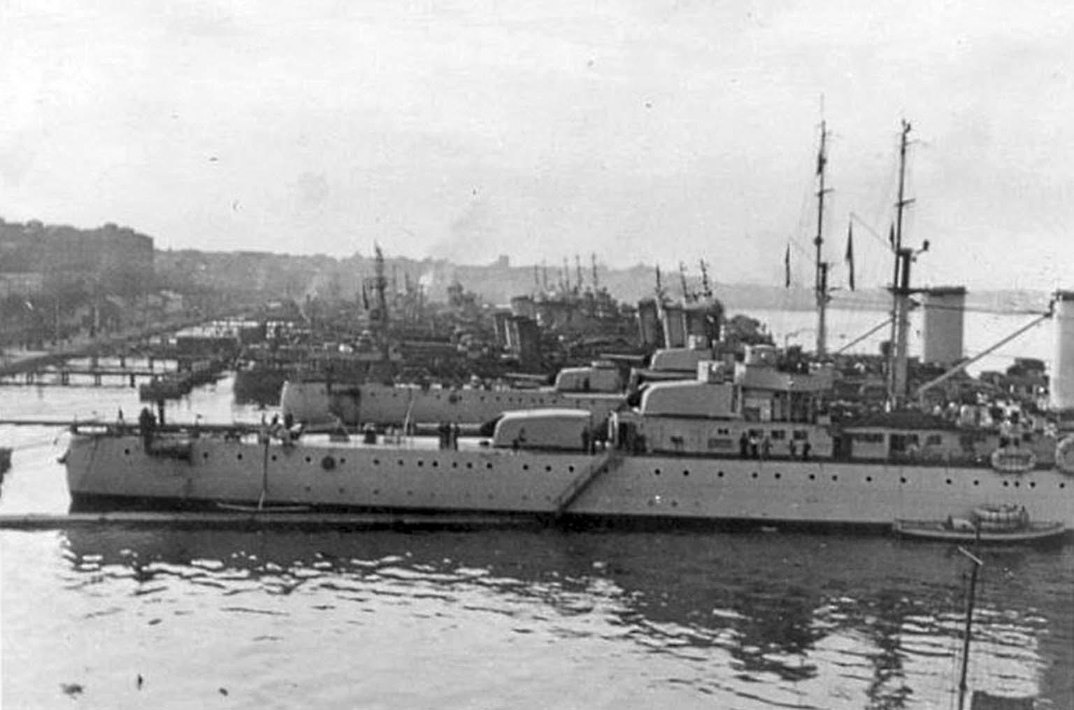Italian cruisers
