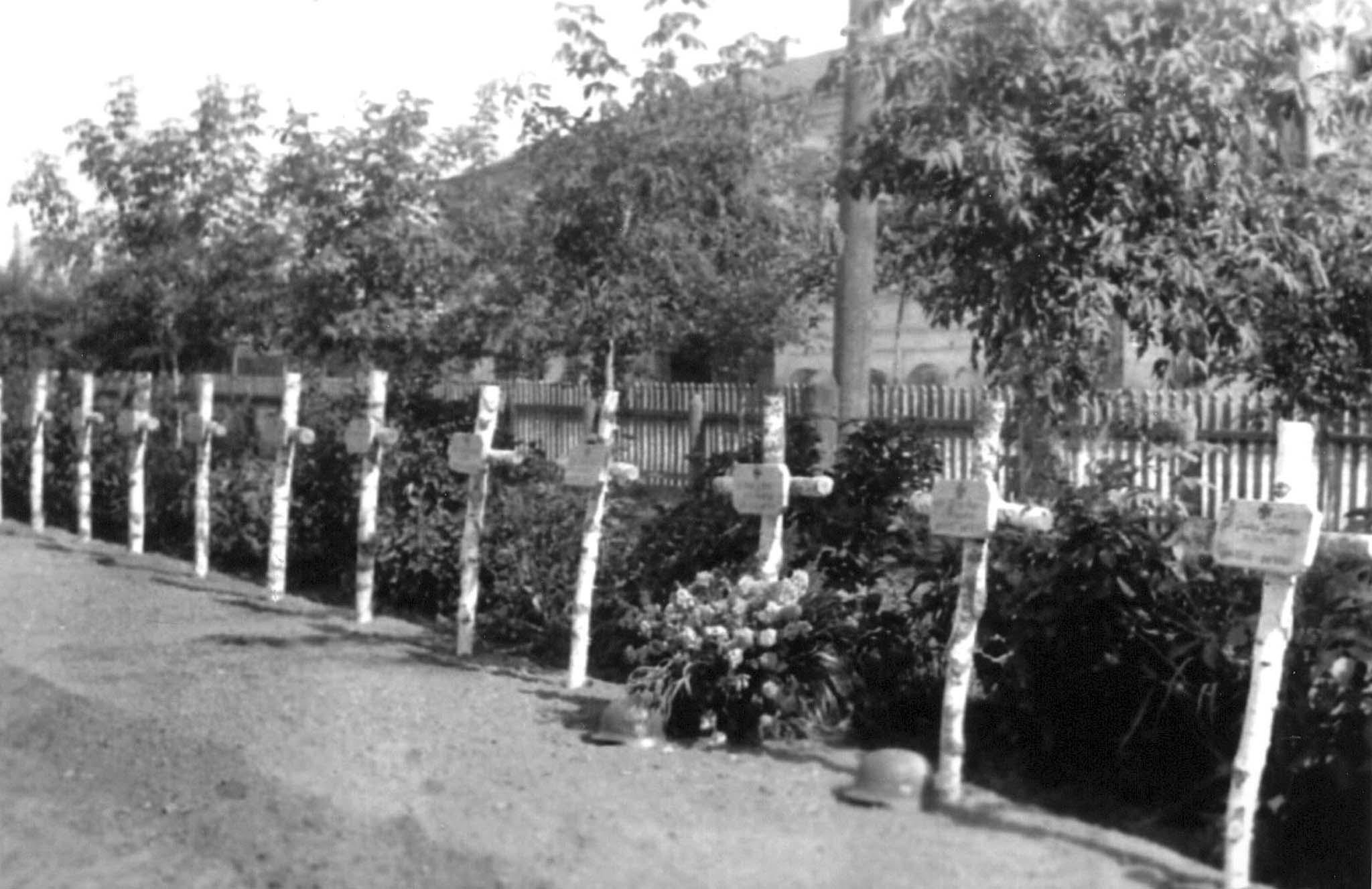 Cemetery of German soldiers