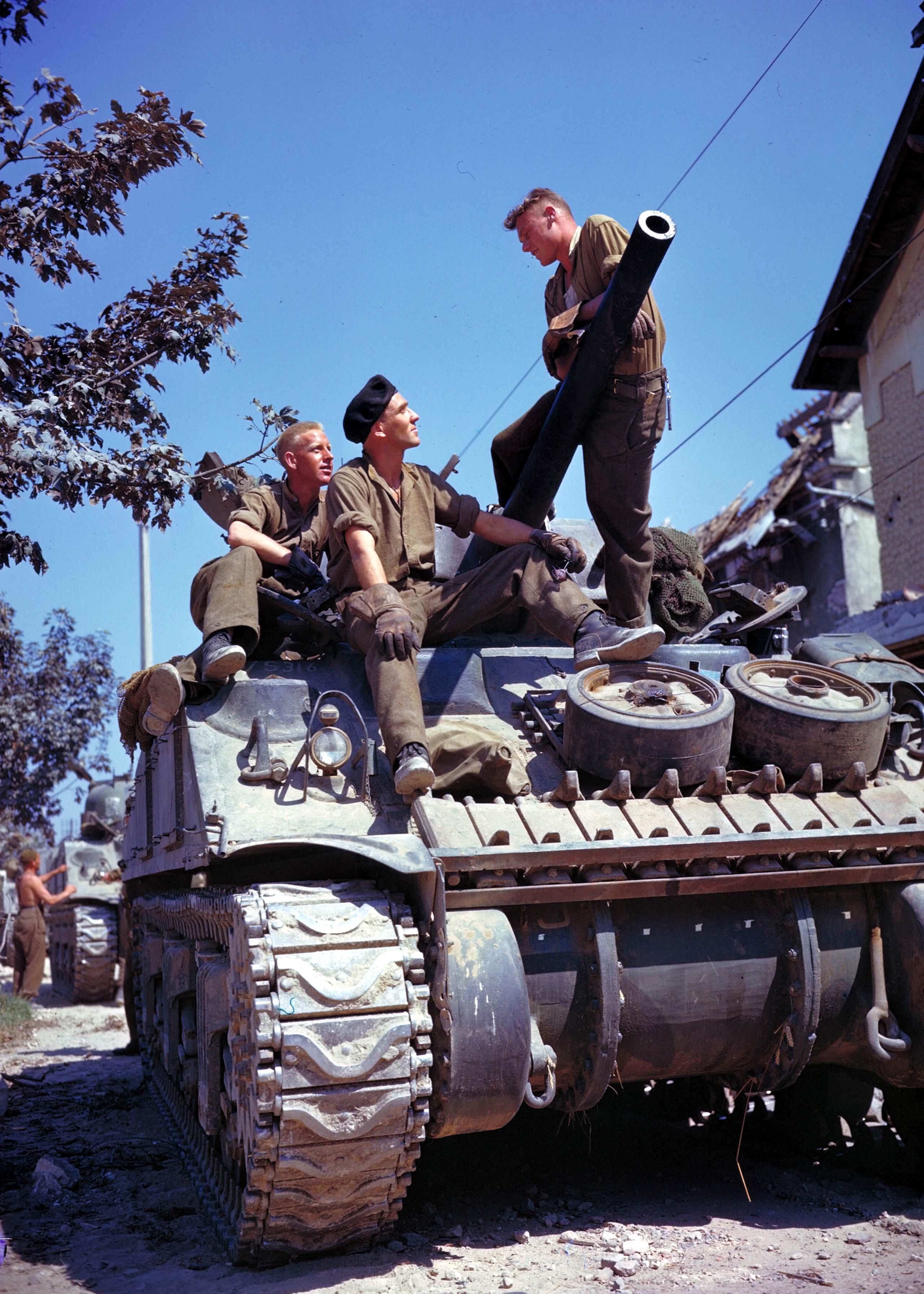 Canadian Sherman tank