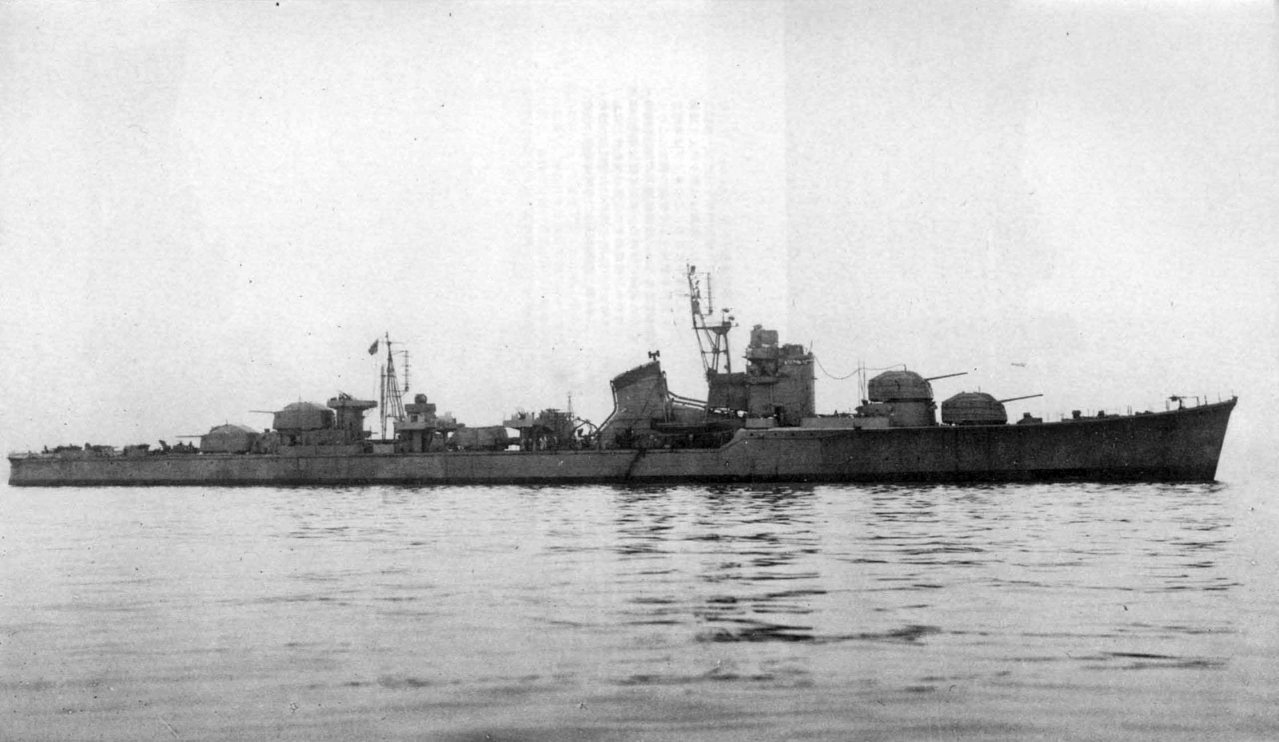 Japanese destroyer Harutsuki