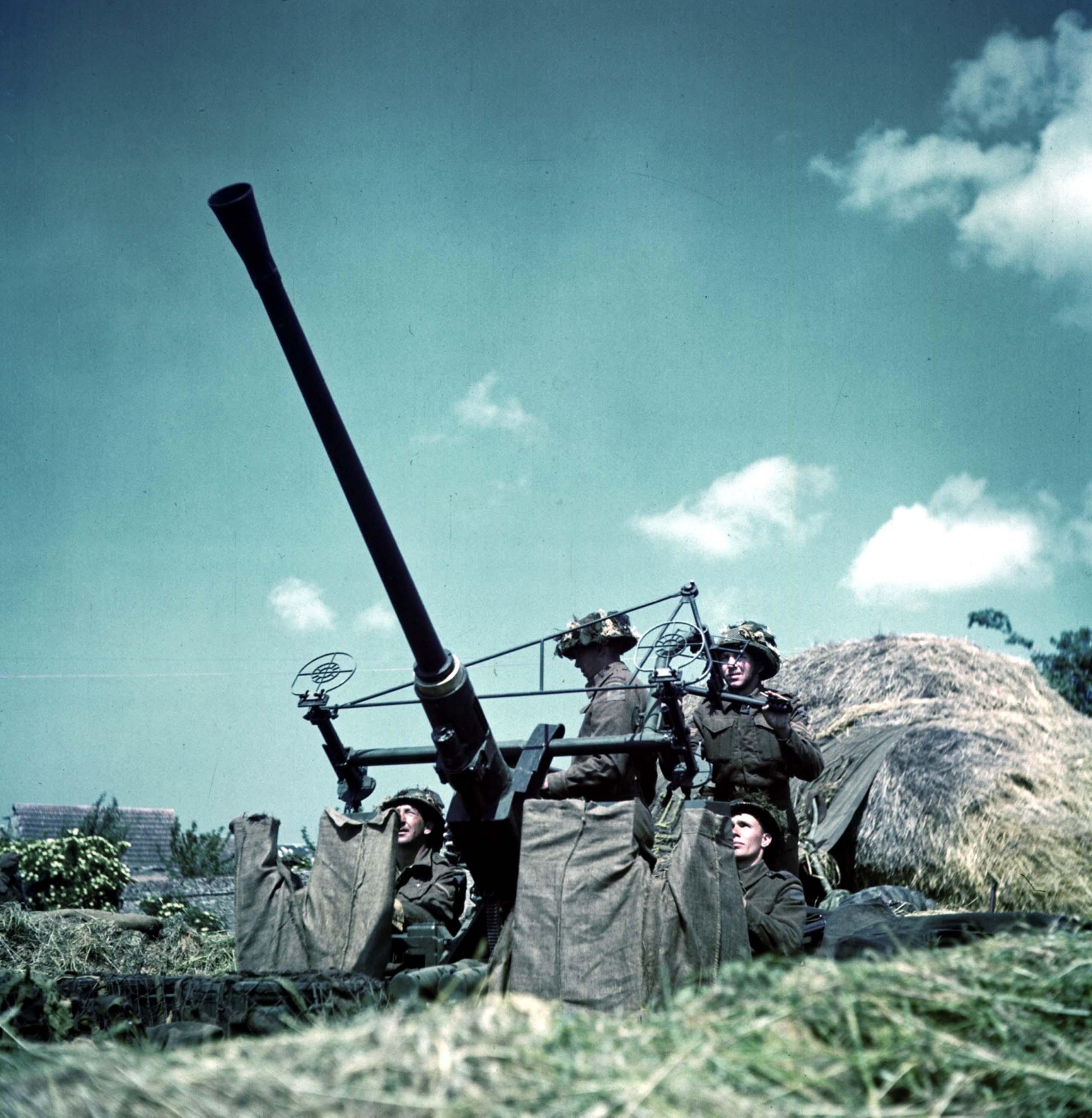 Bofors antiaircraft gun