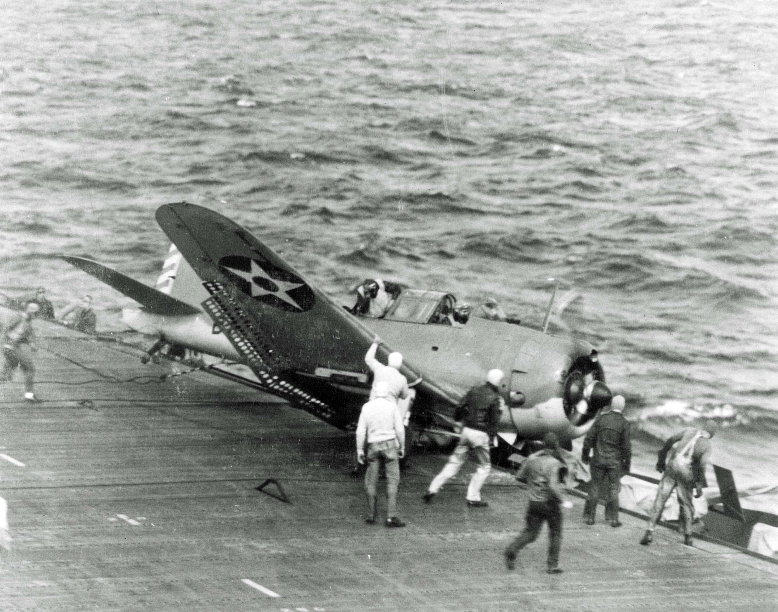 SBD dive bomber