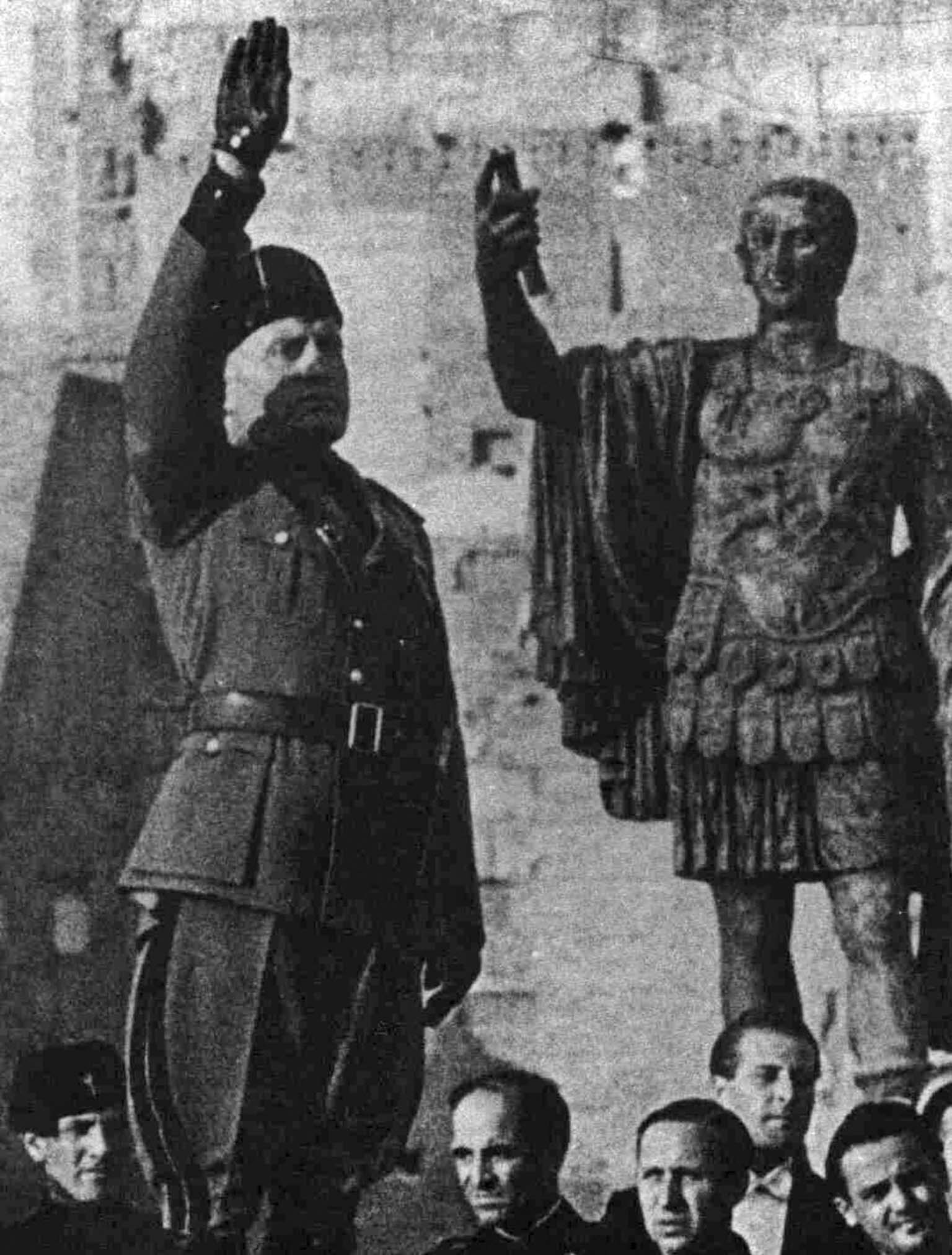 rise and fall of benito mussolini and his great impact on world war ii
