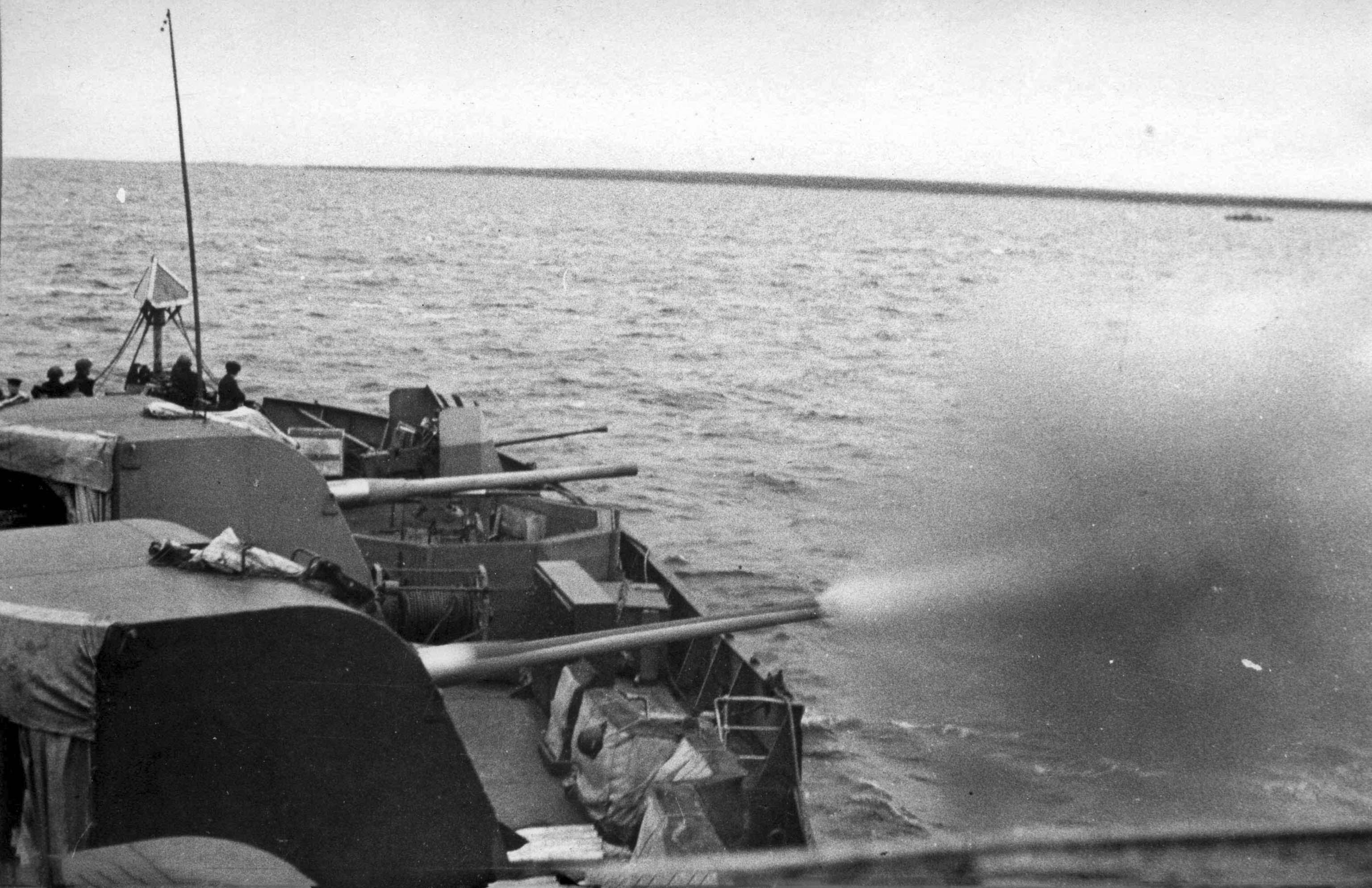 B-24BM artillery guns