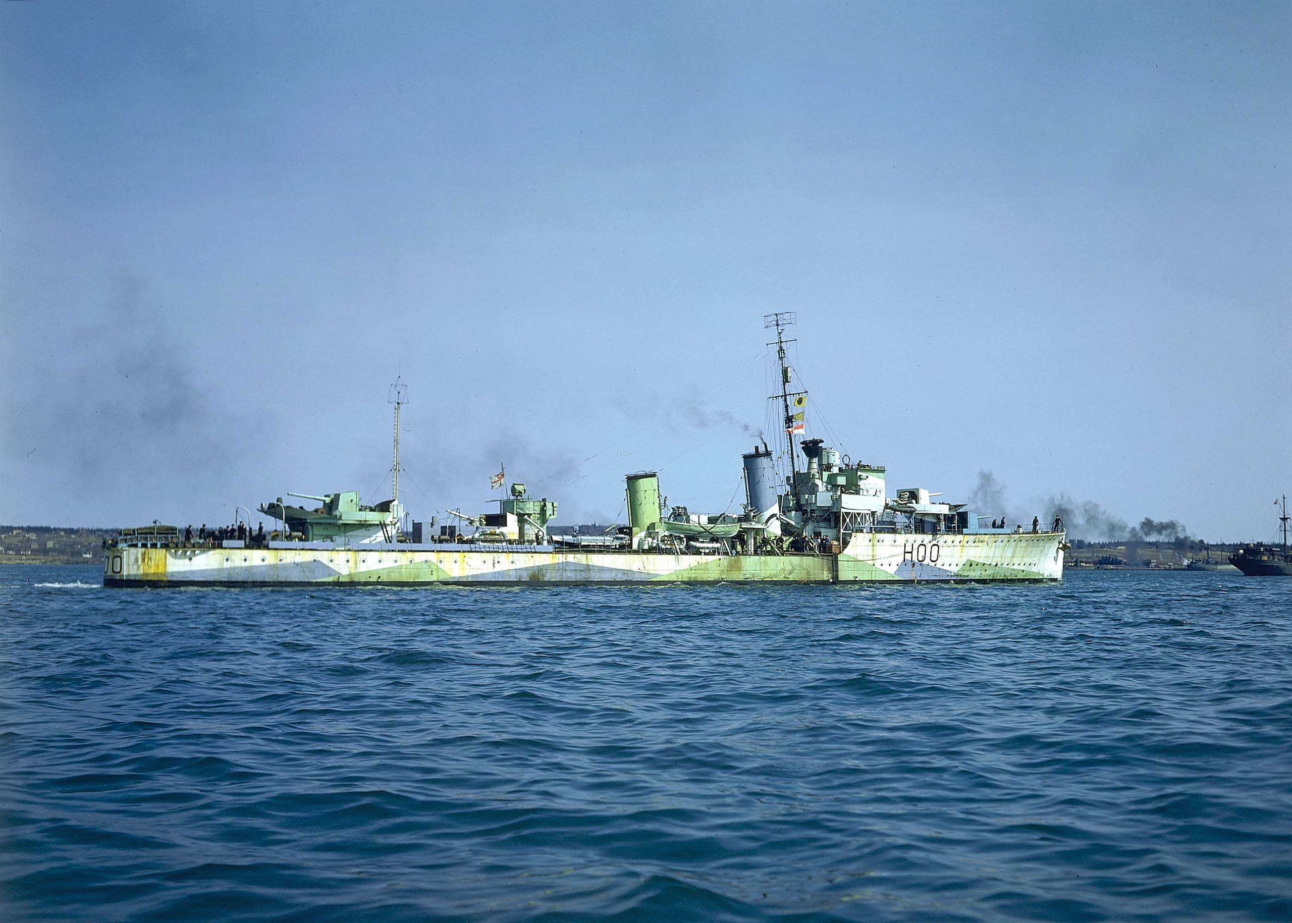 destroyer Restigouche