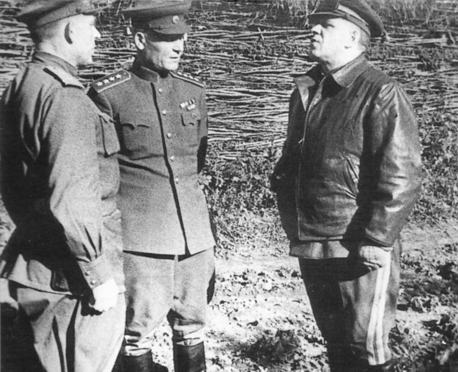 George Zhukov, Ivan Konev