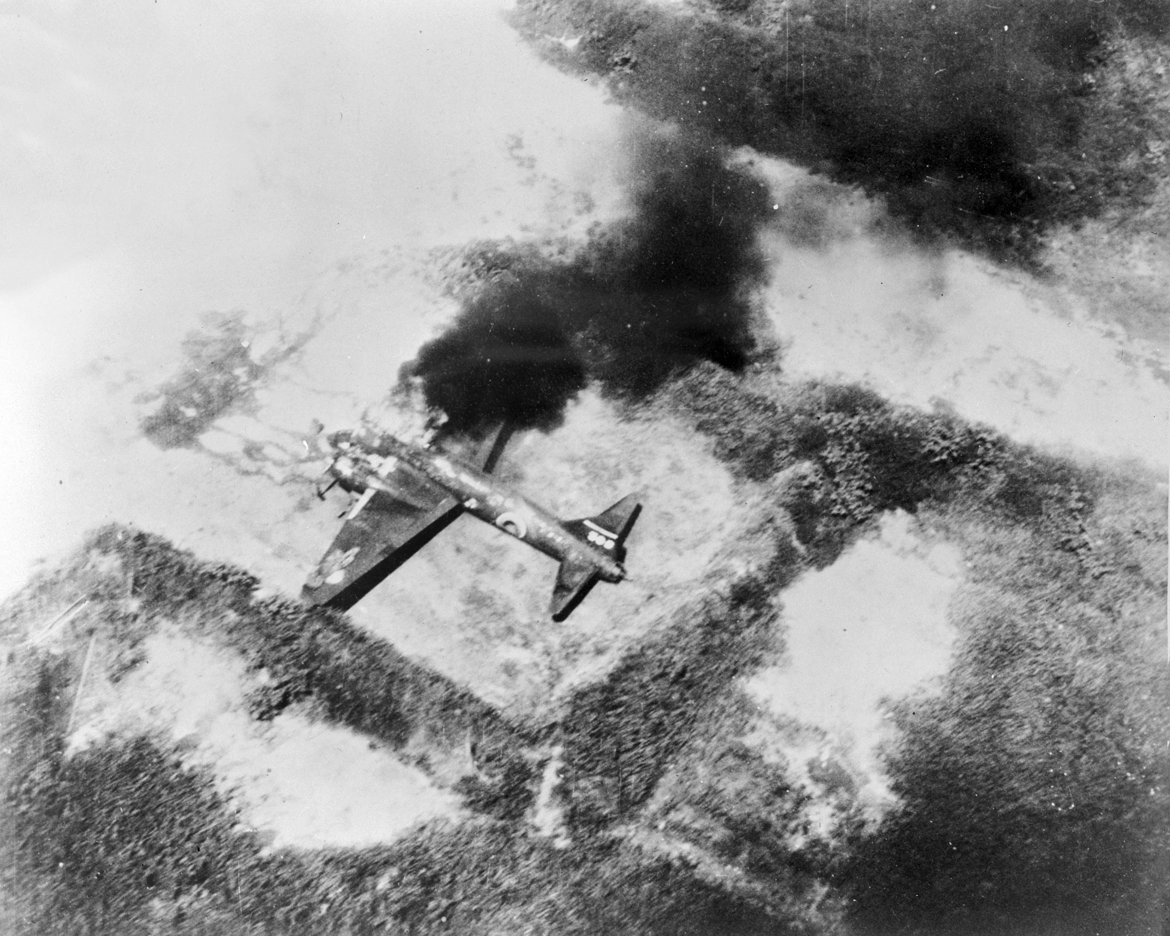 Japanese bomber G4M