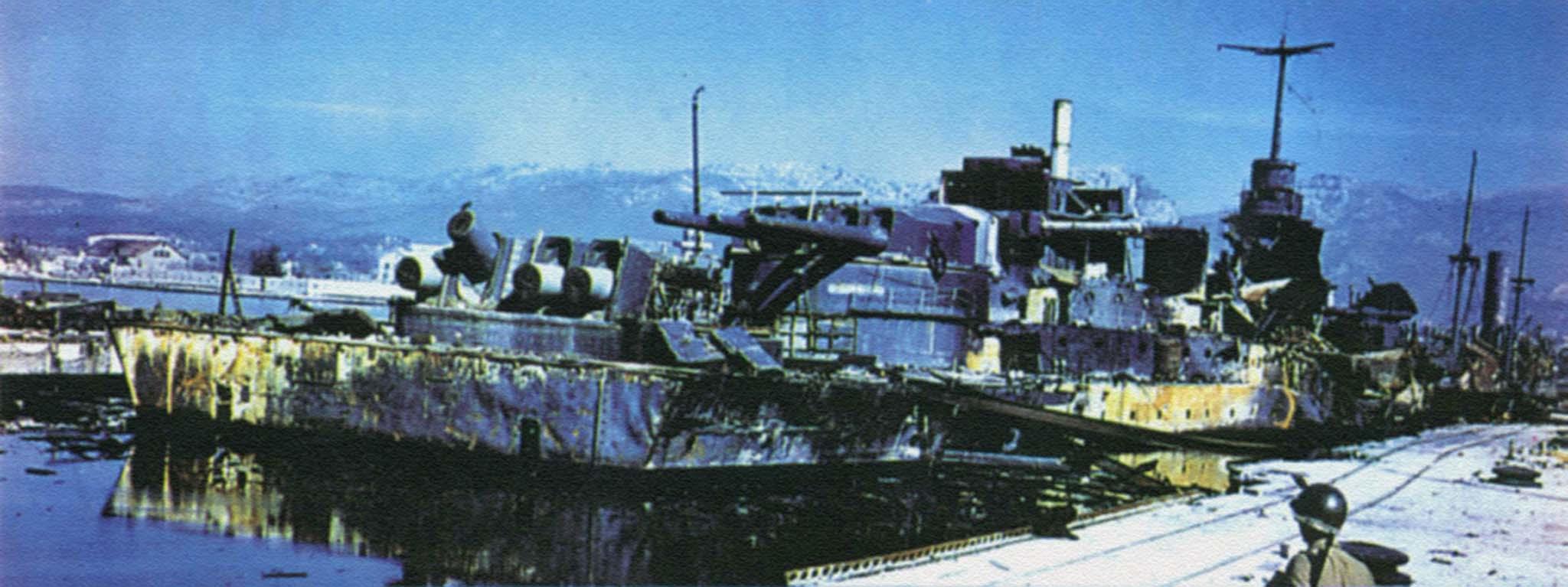 battleship Dunkerque