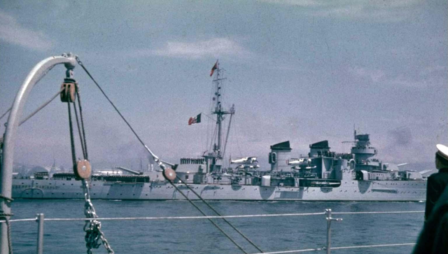 cruiser Giuseppe Garibaldi
