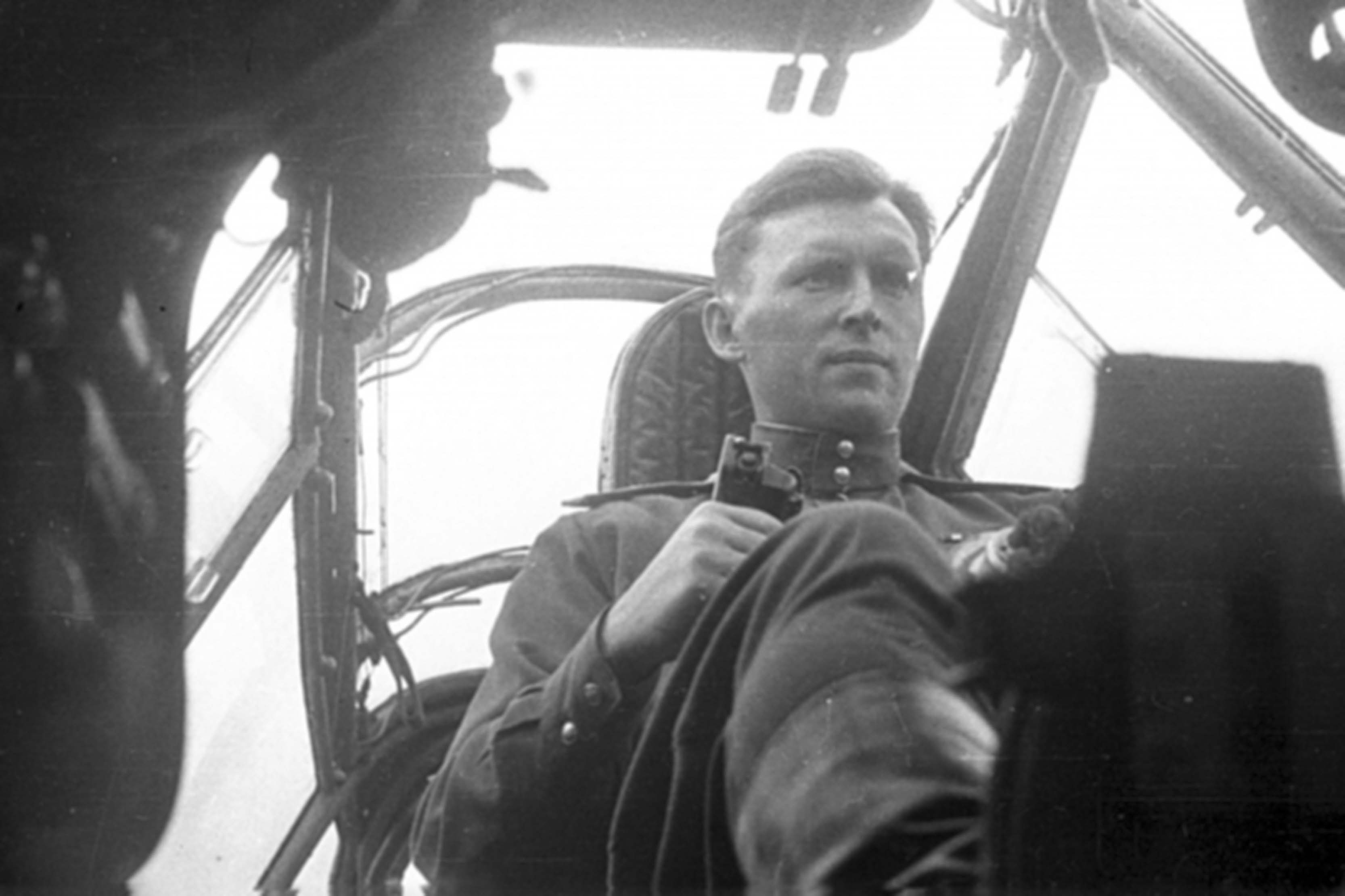 Test pilot Alexei Perelet