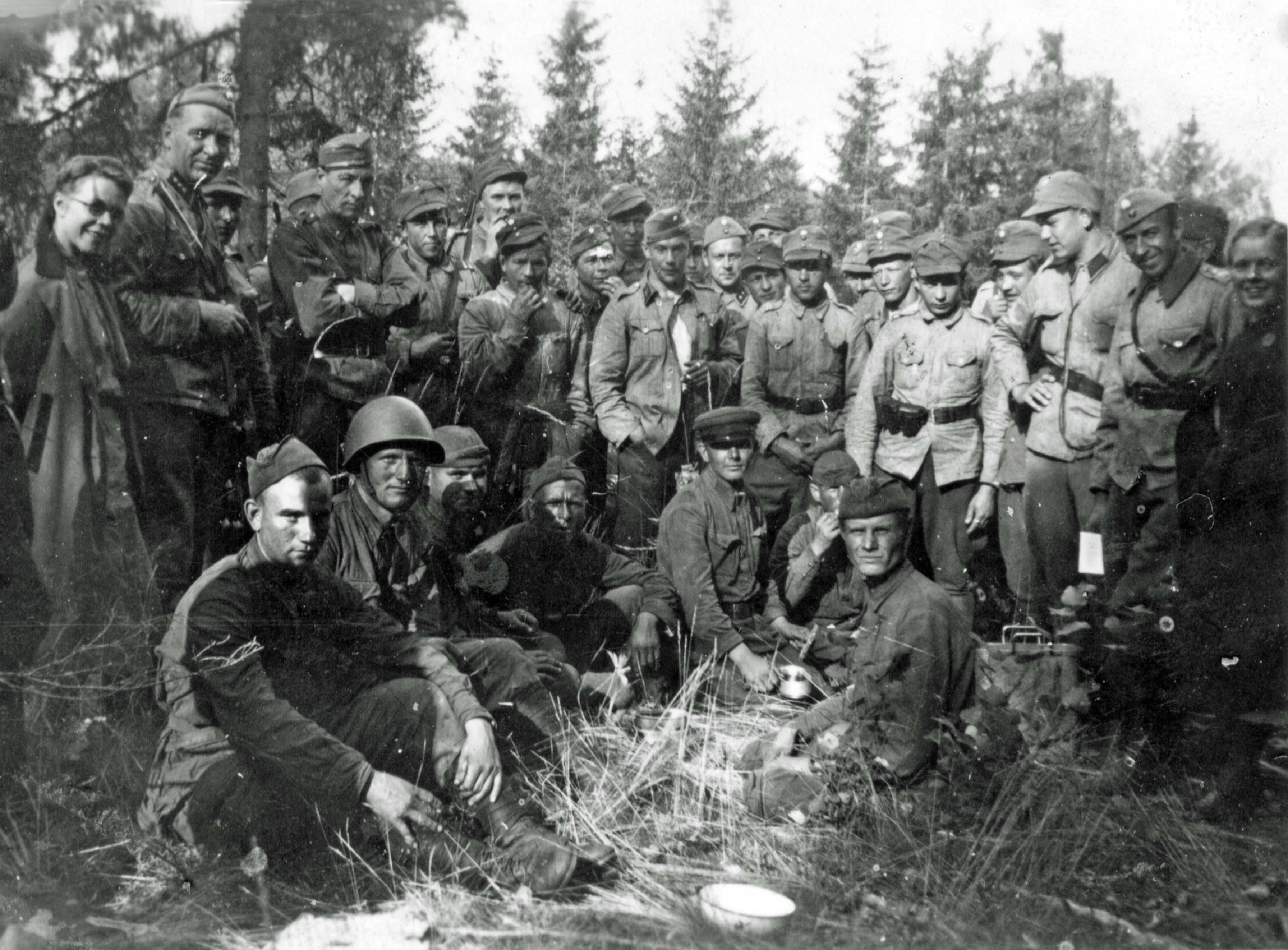 Soviet prisoners of war, Finnish soldiers