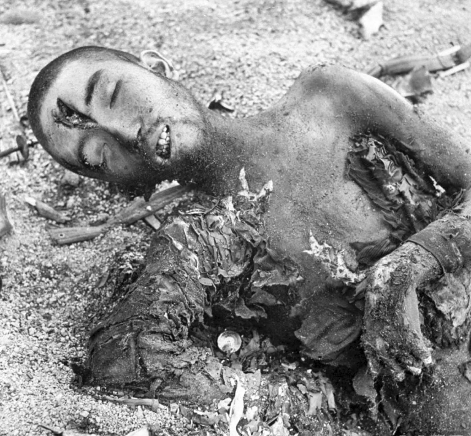Dead Japanese soldier