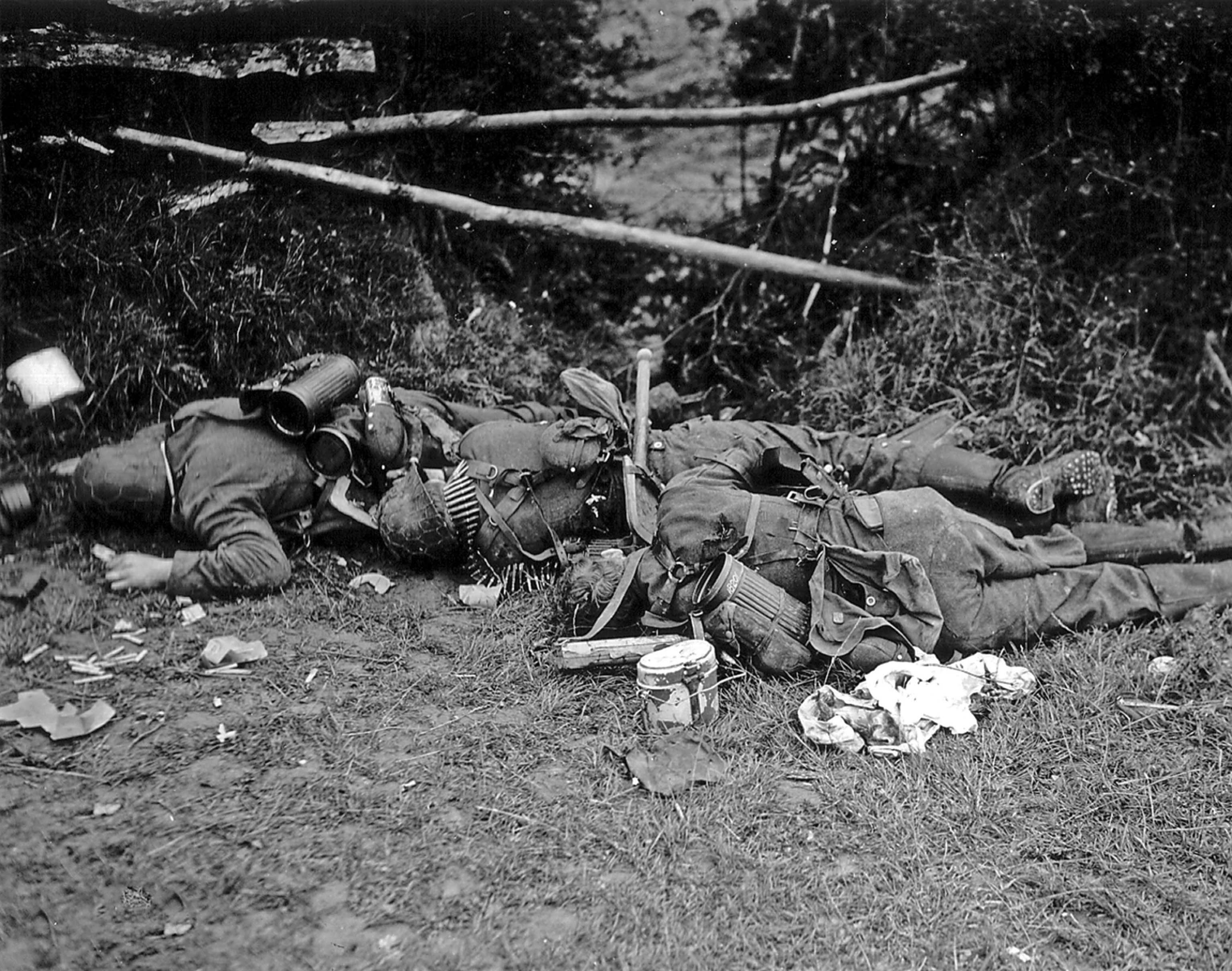 corpses of soldiers