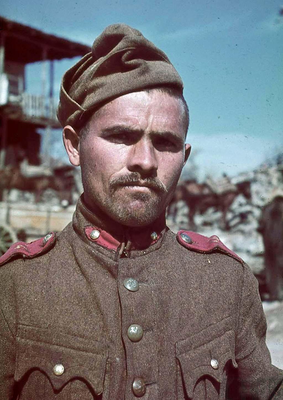 Bulgarian soldier