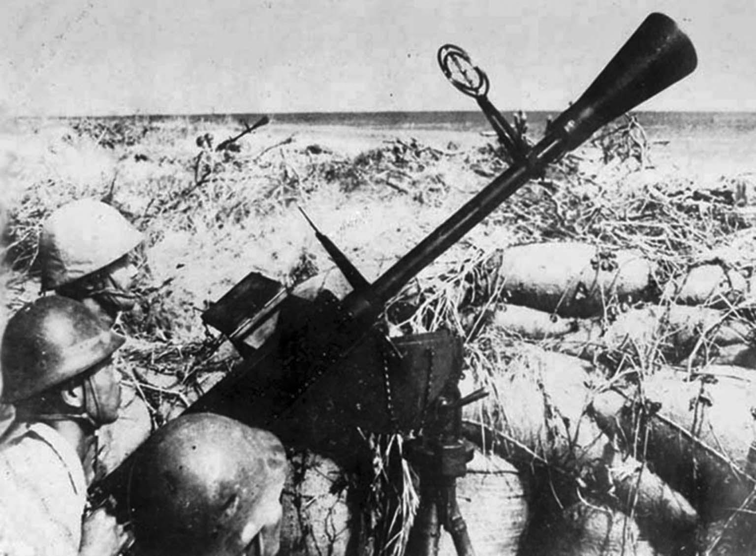 anti-aircraft machine gun