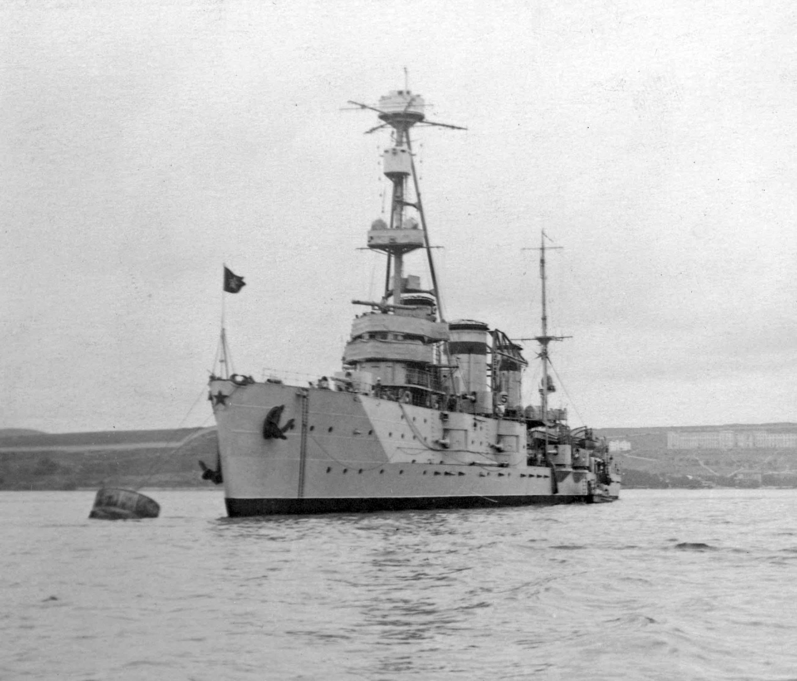 cruiser Chervona Ukraine