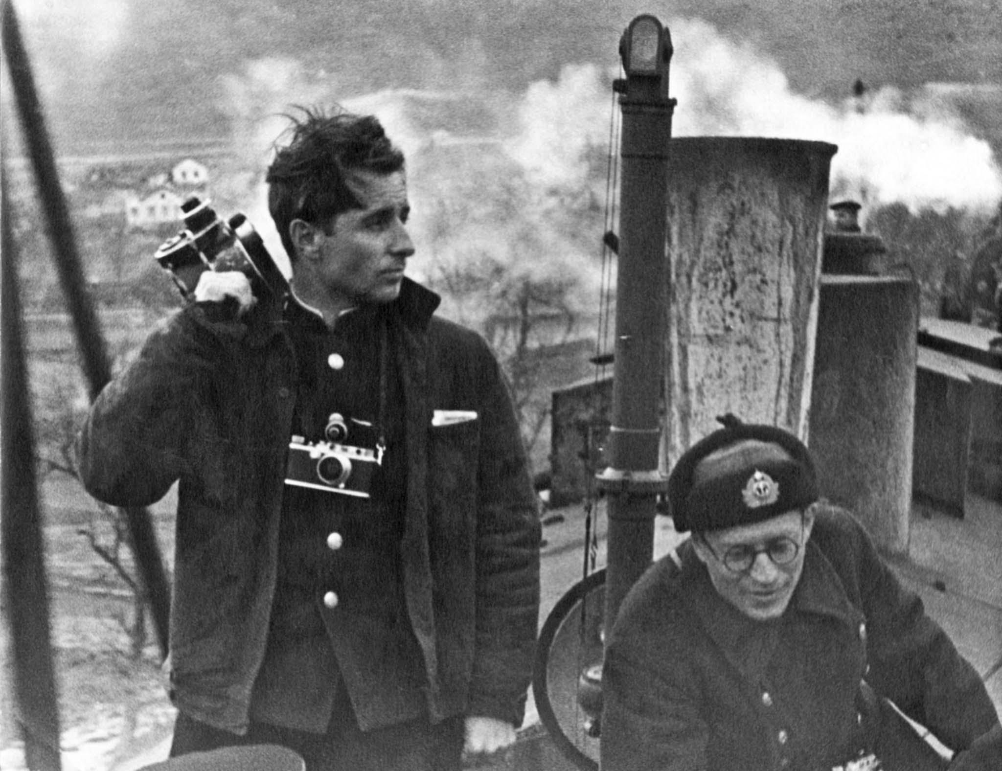 Soviet cameramen