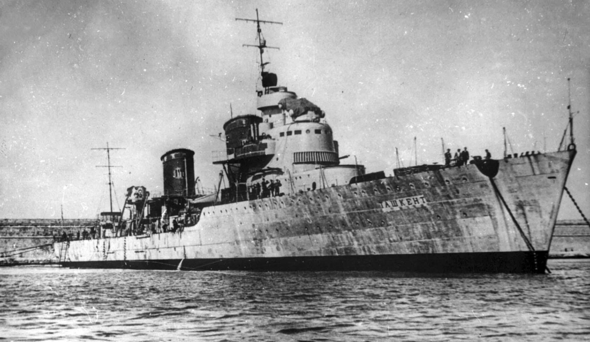 Destroyers leader Tashkent