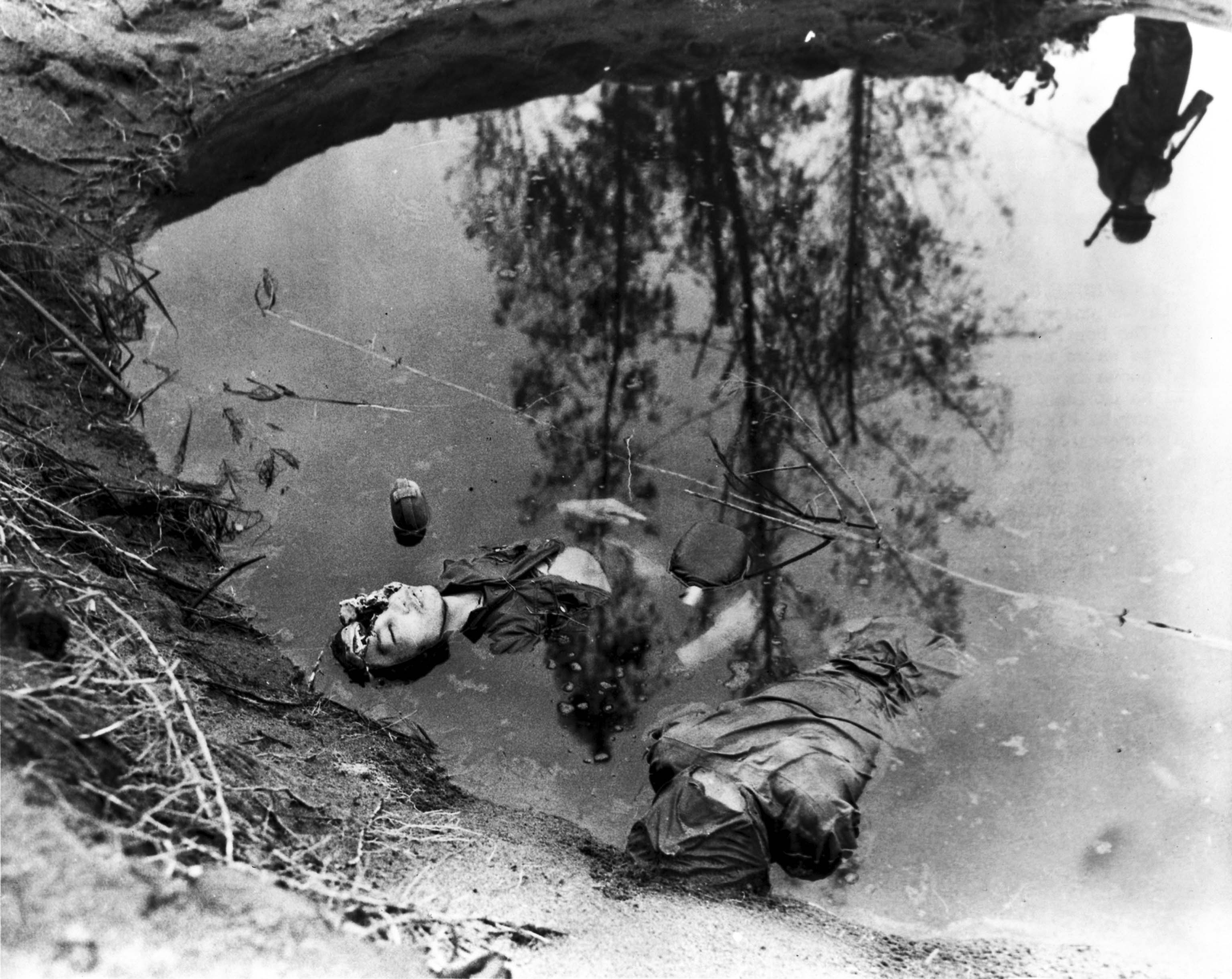 Killed Japanese soldiers