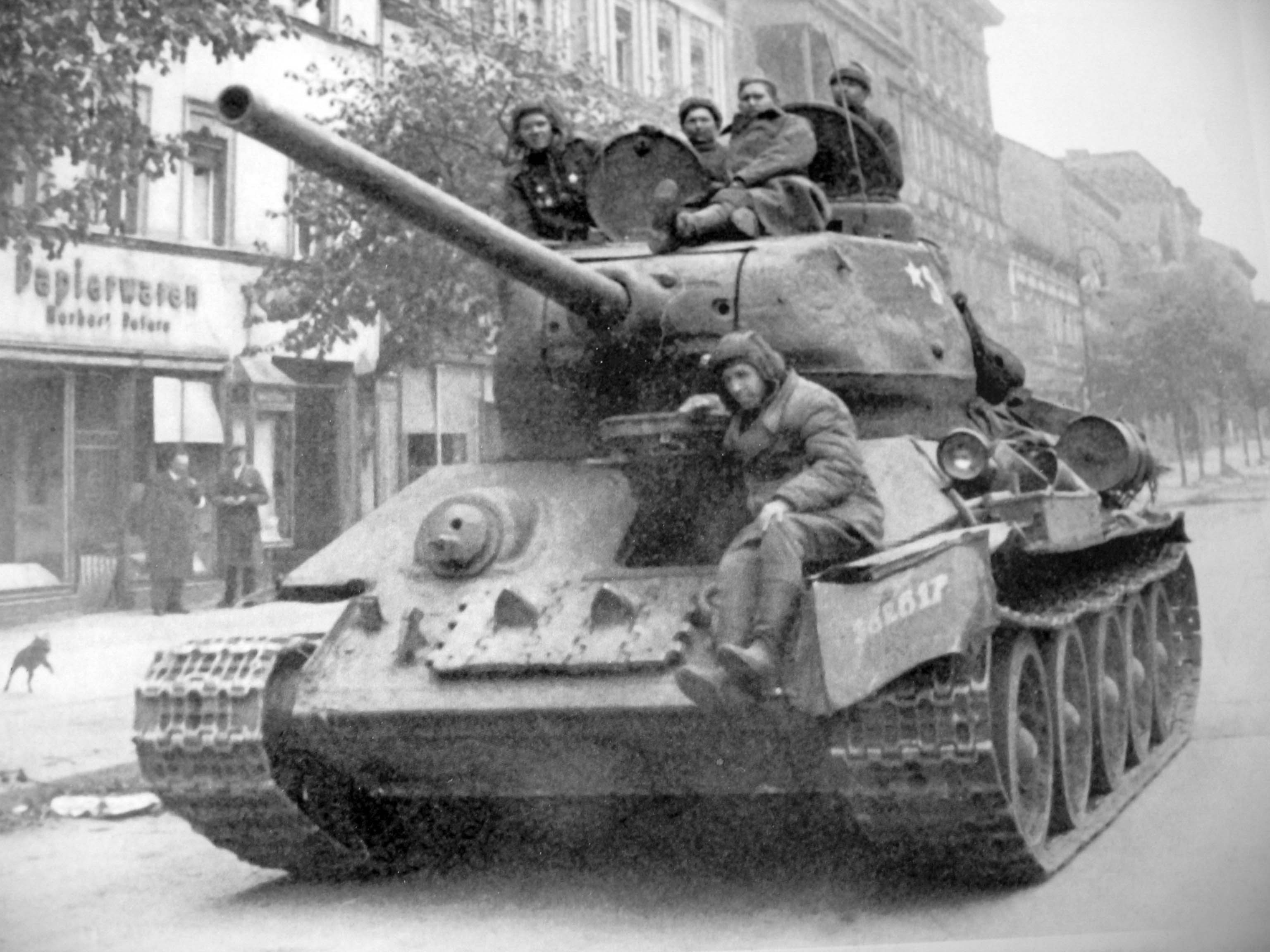 Image result for t34 tank berlin