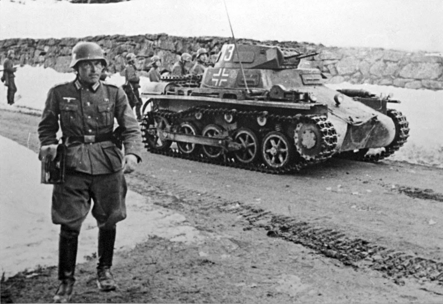 Herbert Stemmer, Panzer I