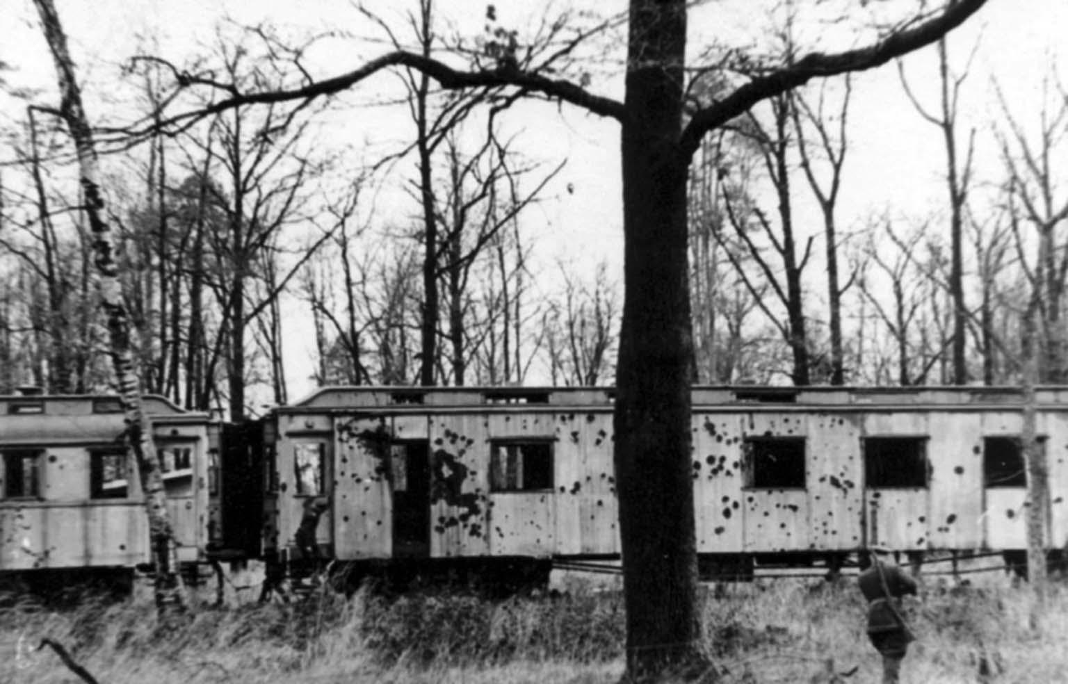 German military train