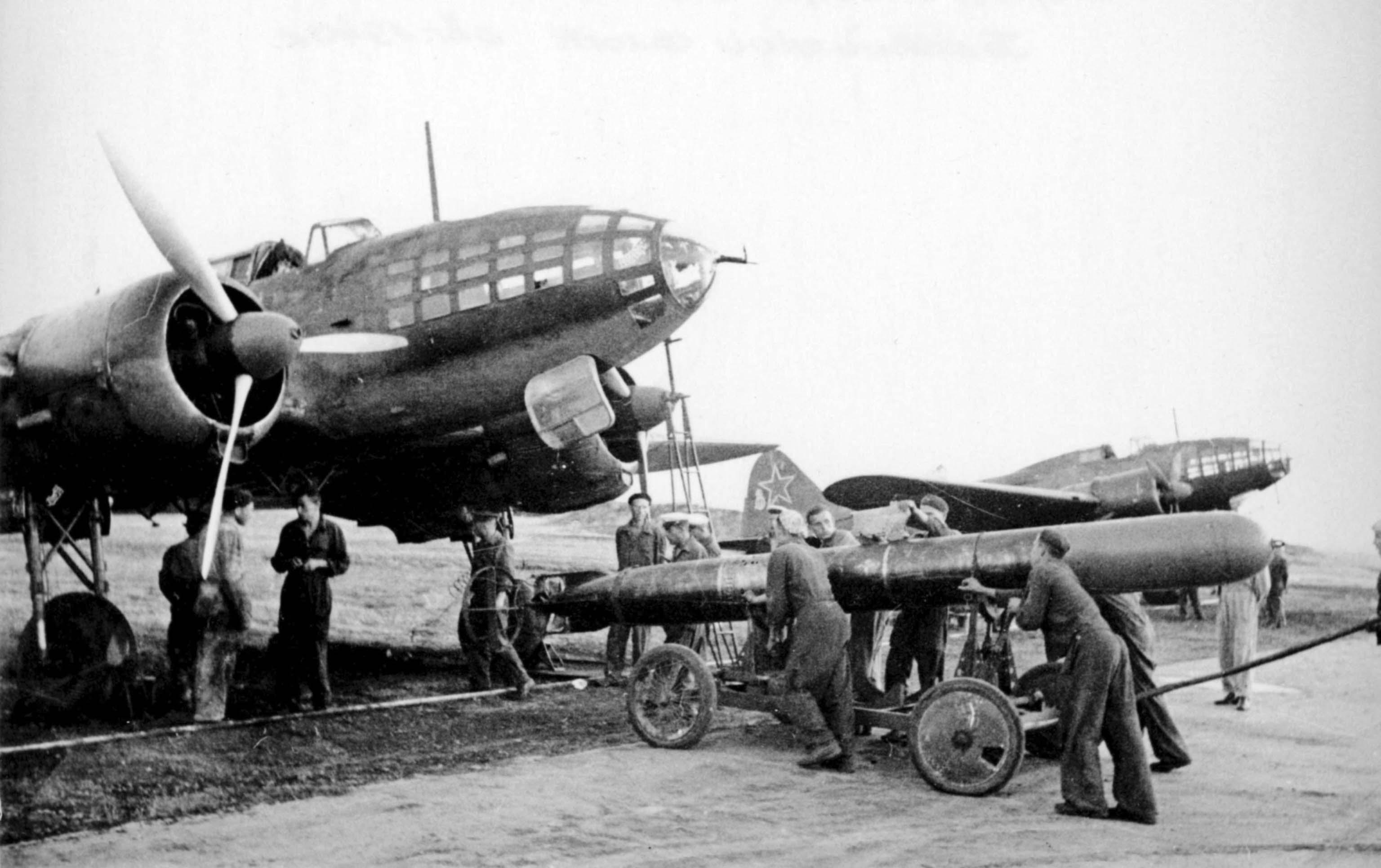 torpedo bomber Il-4T