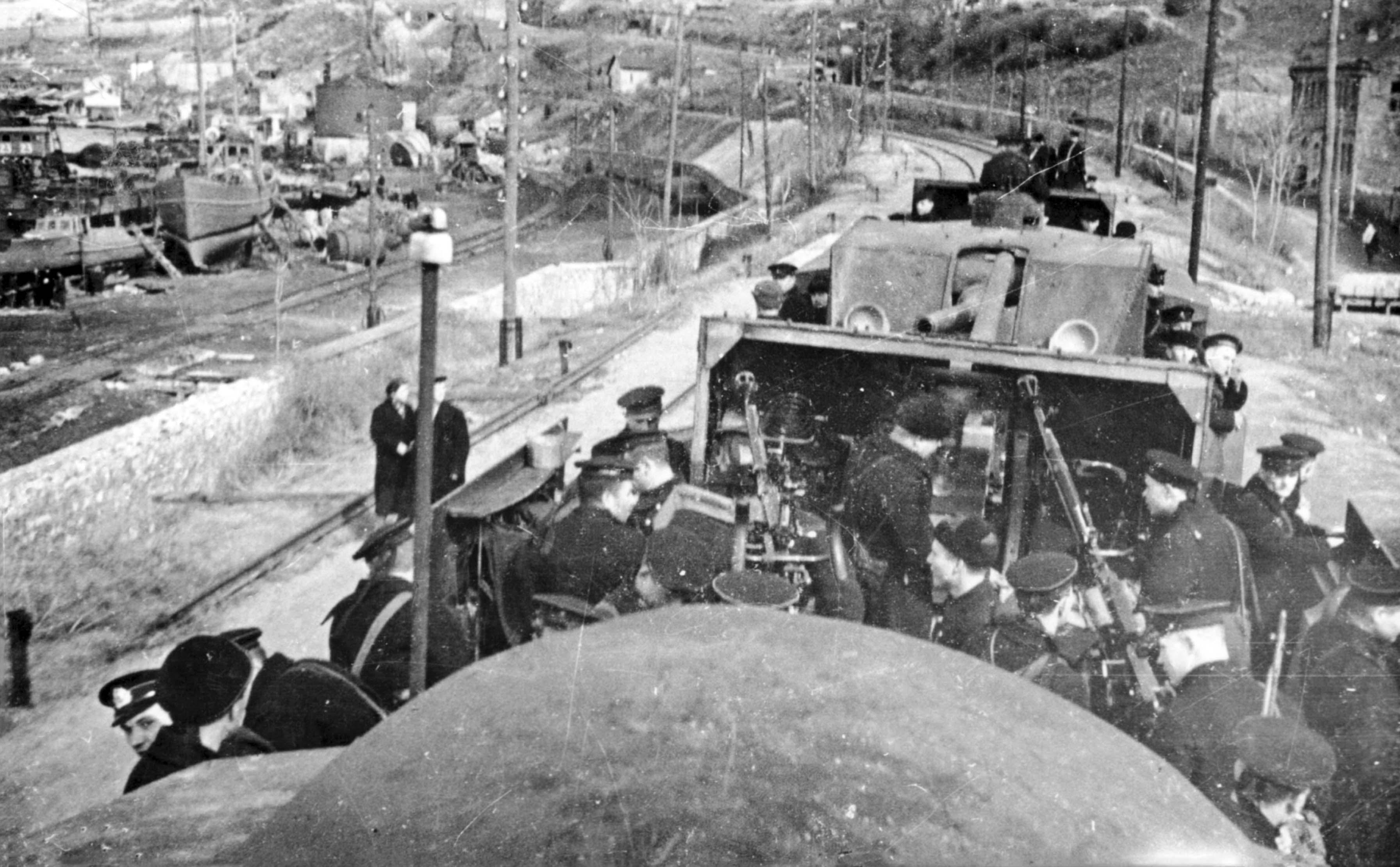 Zheleznyakov armored train