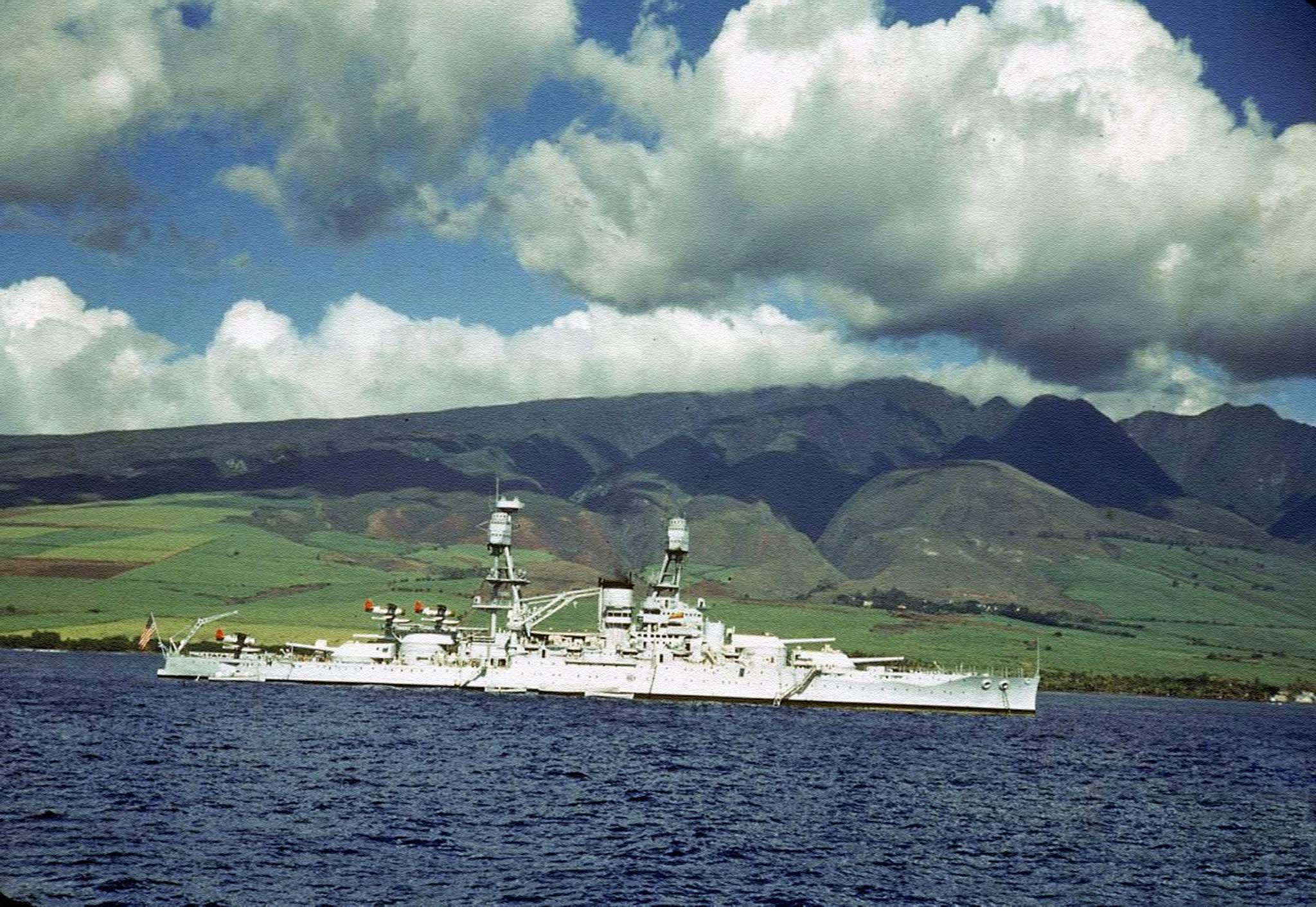 battleship Nevada