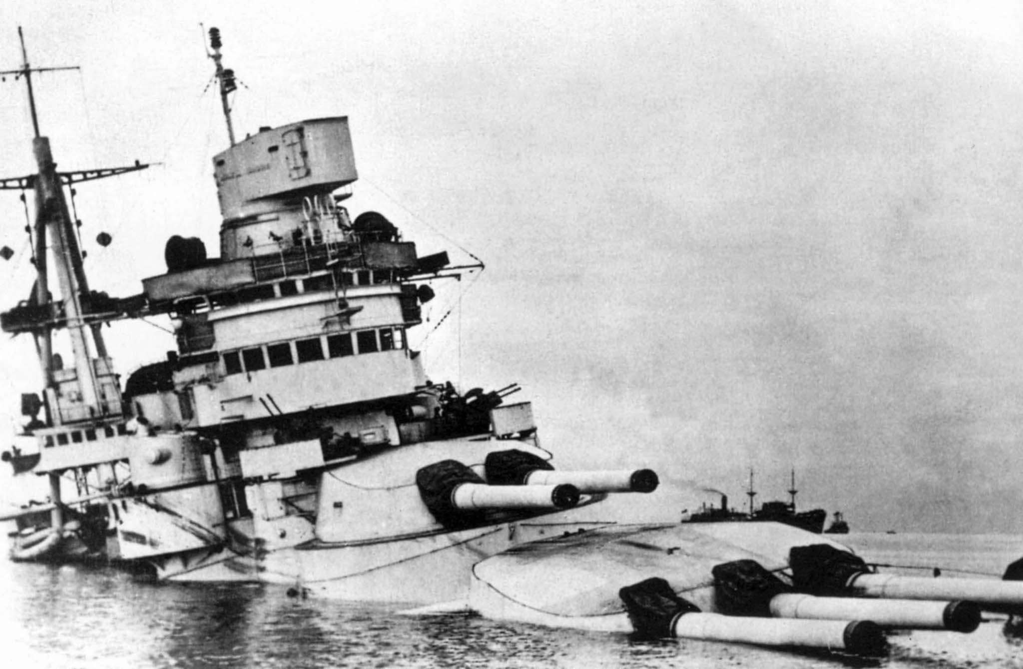 battleship Conte di Cavour