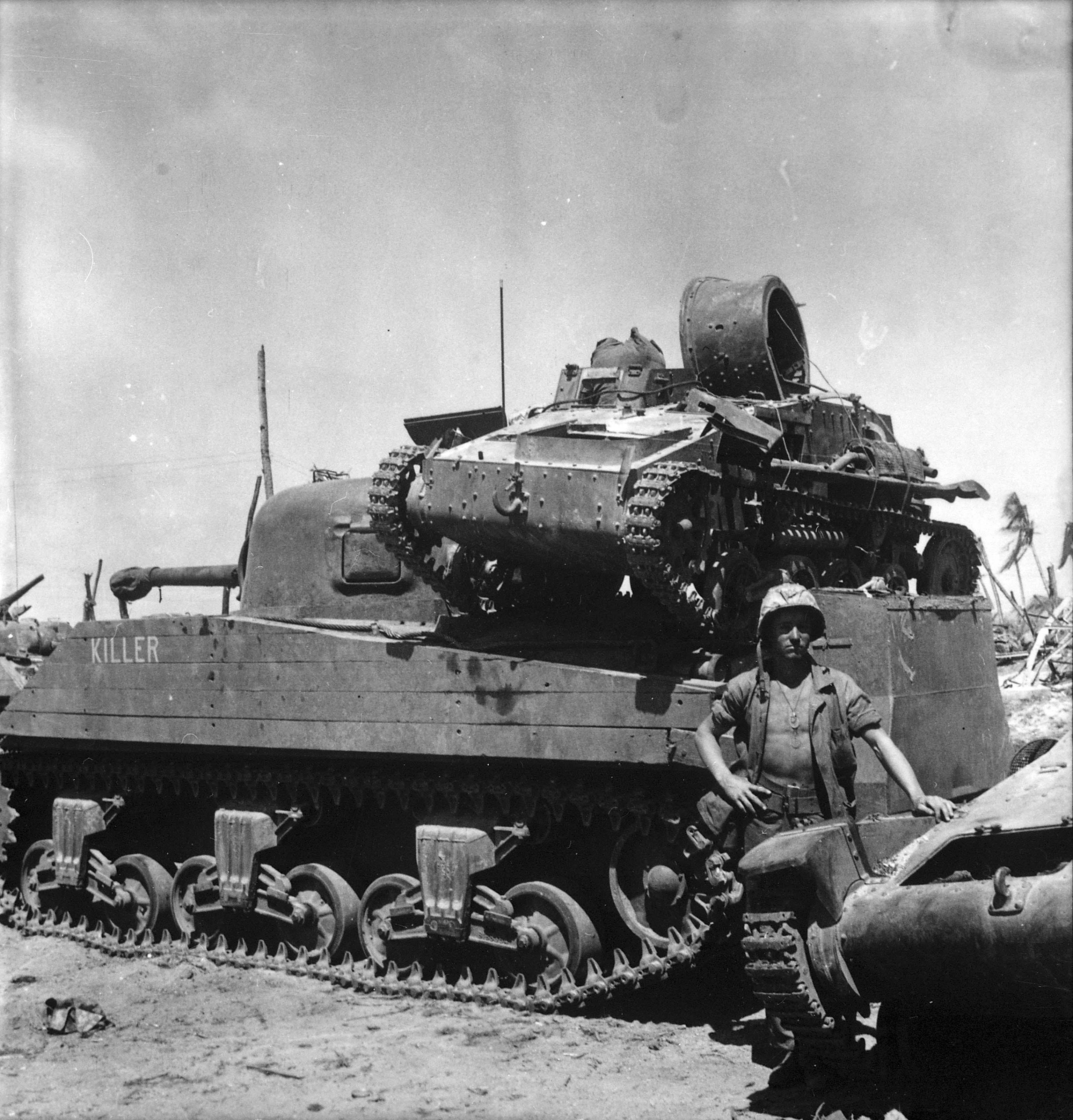 Type 94 Te-Ke, Sherman