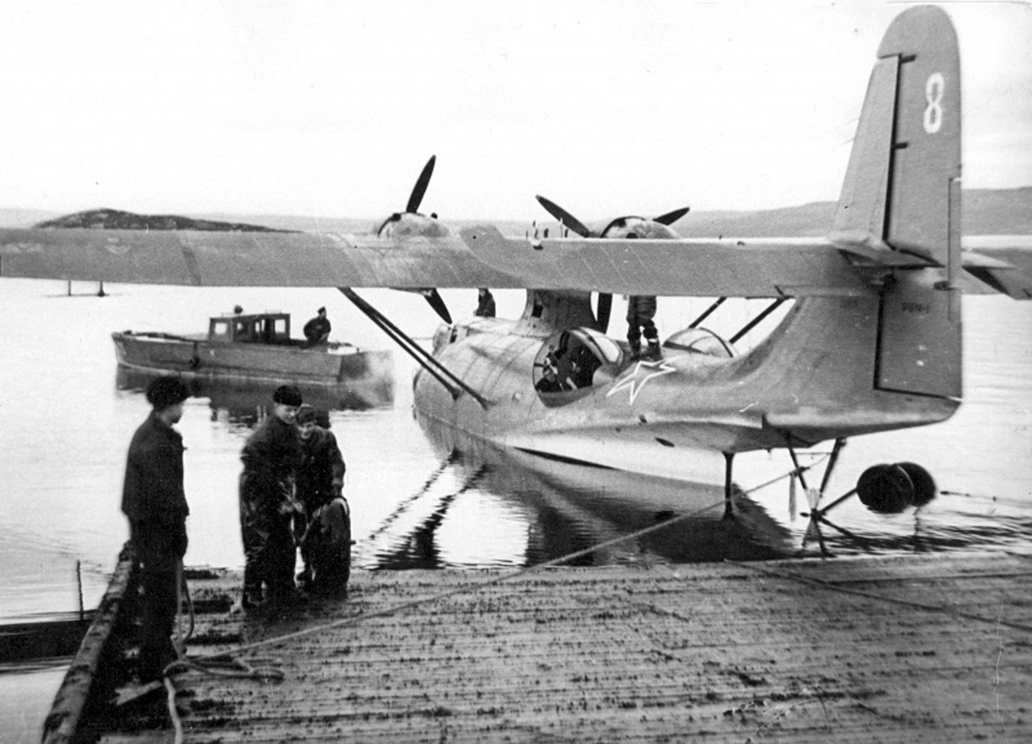 flying boat PBN-1