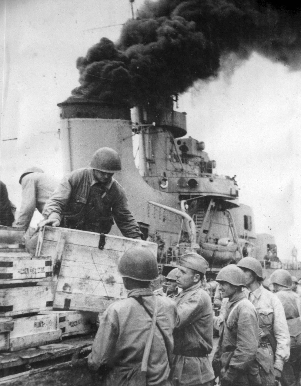 destroyer Tashkent